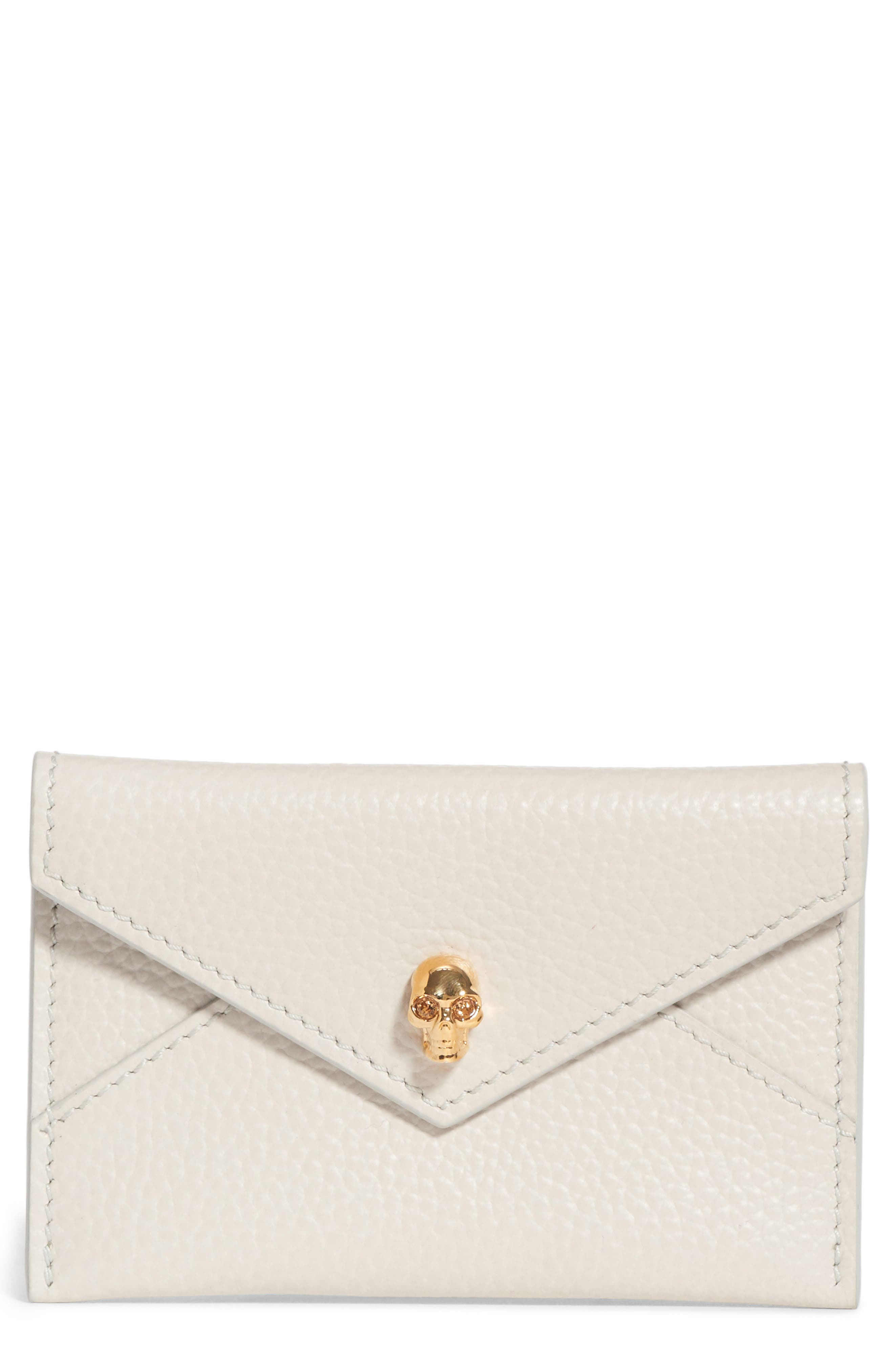 Envelope Card Holder,                             Main thumbnail 1, color,                             OFF WHITE