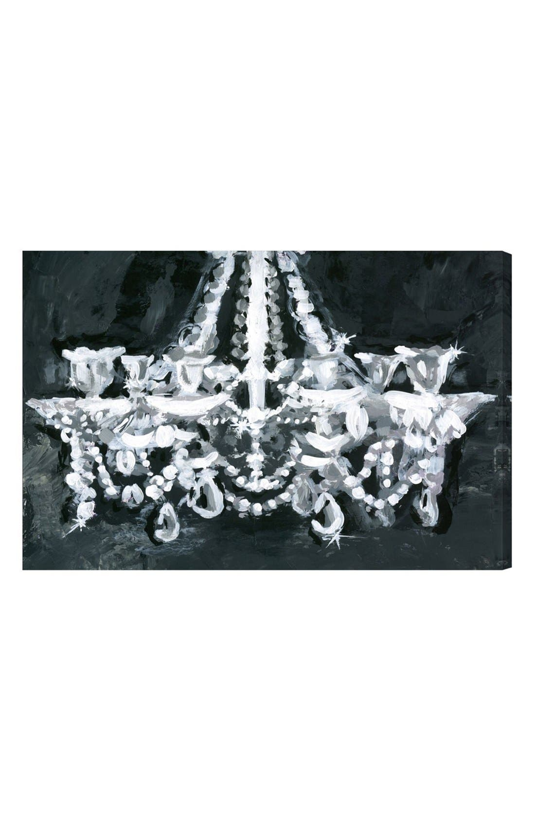 'Candelabra' Wall Art,                             Main thumbnail 1, color,                             BLACK MULTI