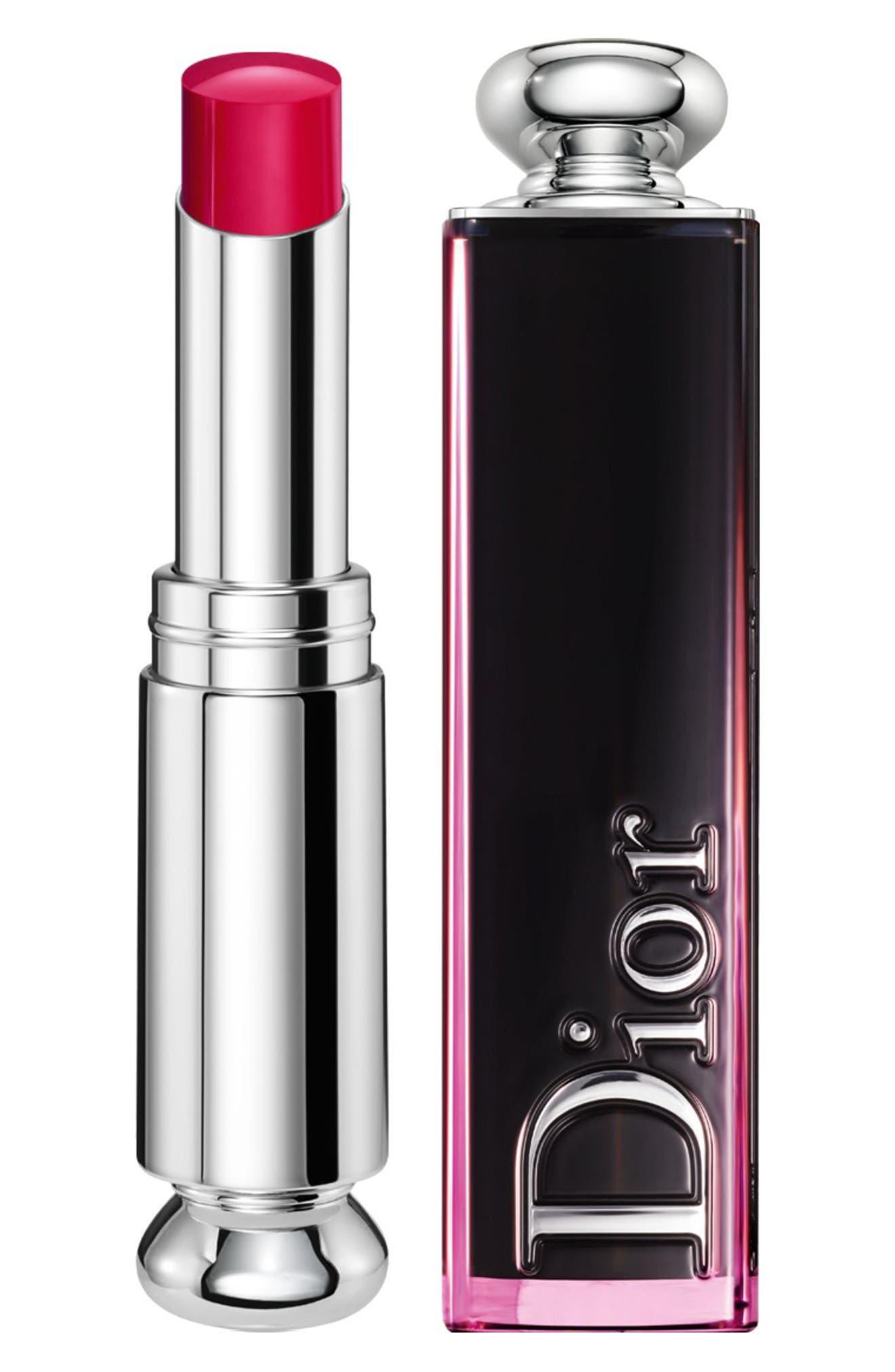 Dior Addict Lacquer Stick - 877 Turn Me Dior/raspberry Red