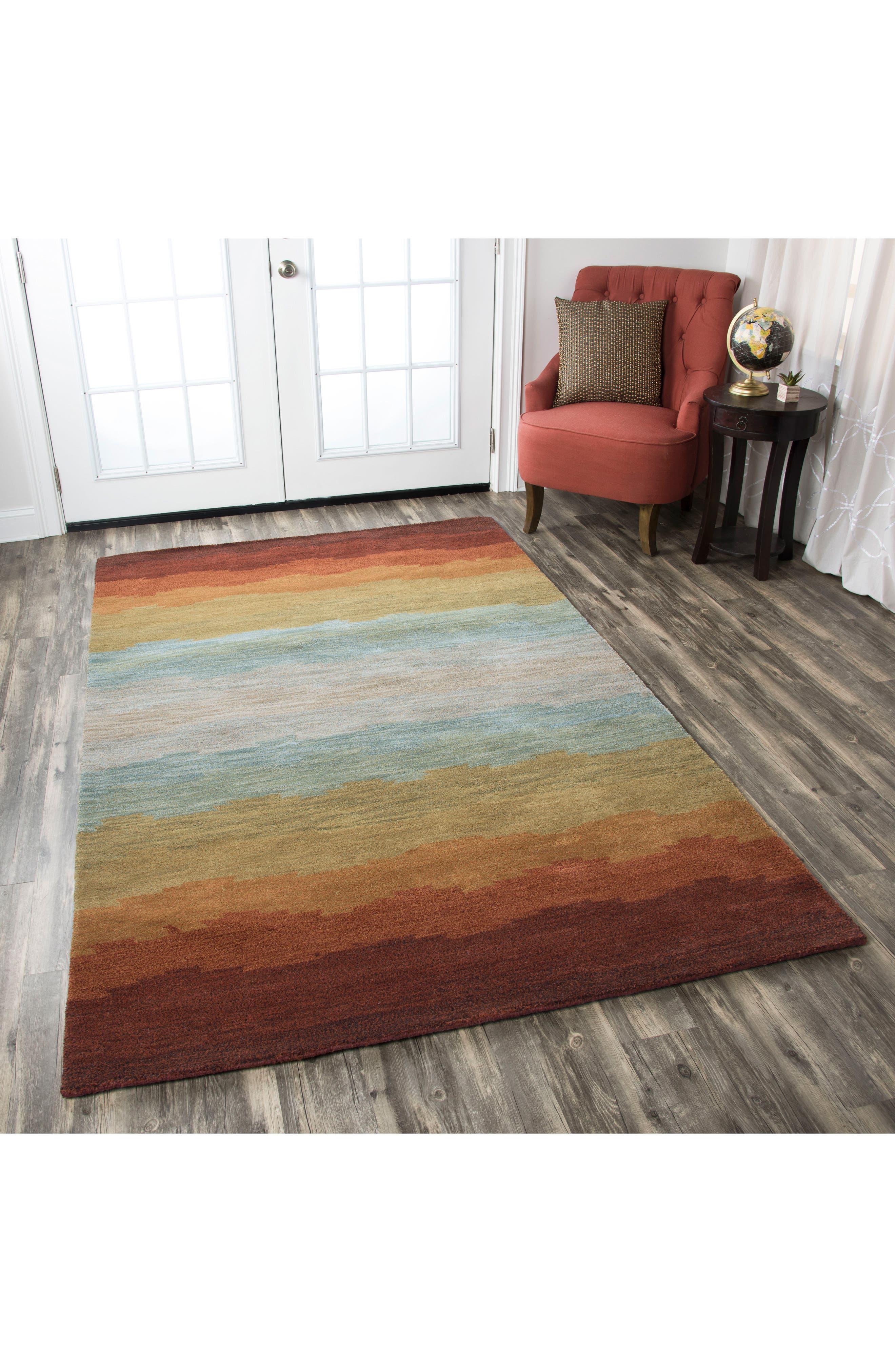 Desert Oasis Hand Tufted Wool Area Rug,                             Alternate thumbnail 2, color,                             220