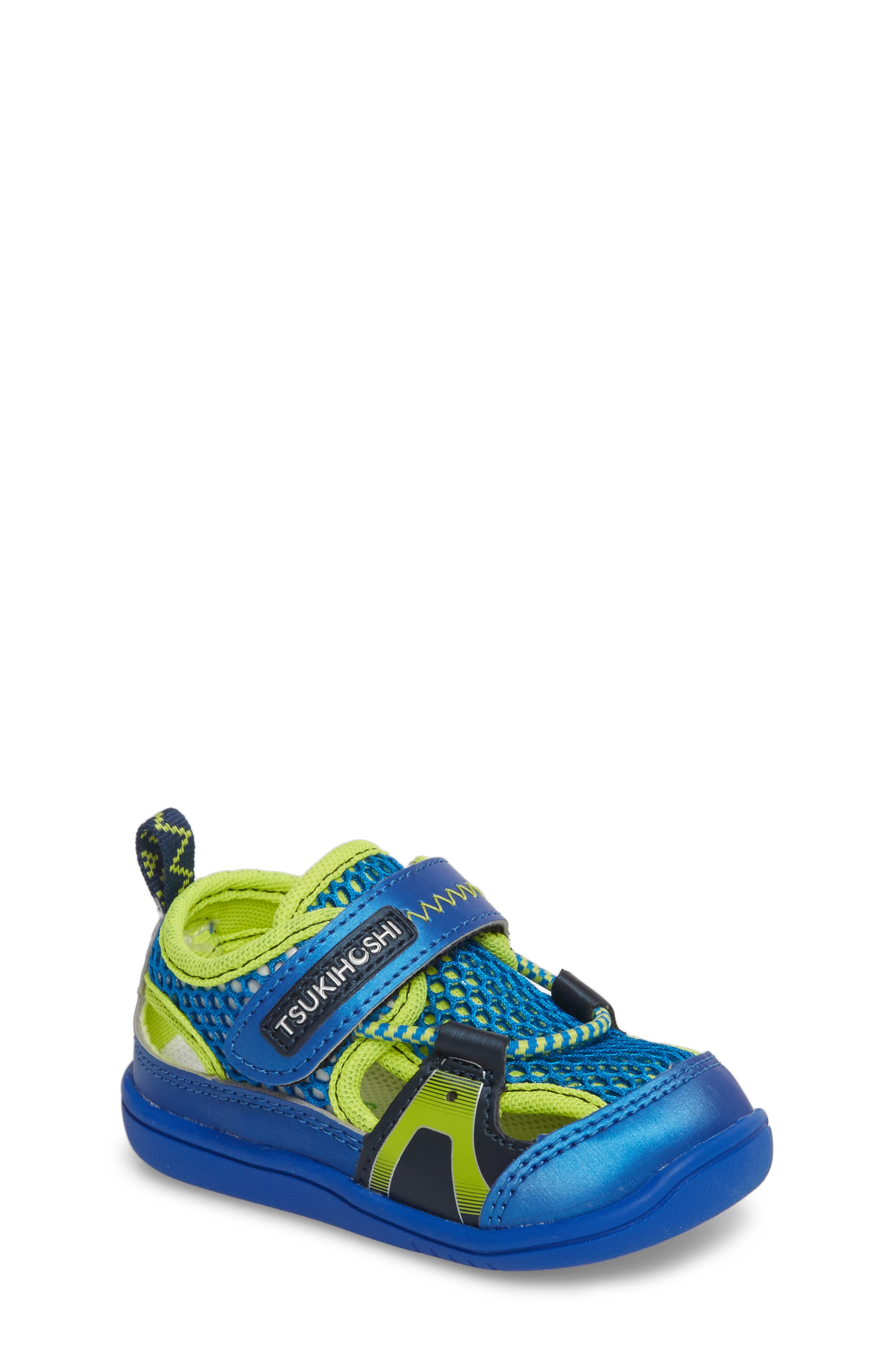 Ibiza Washable Sandal,                             Main thumbnail 1, color,                             ROYAL/ LIME