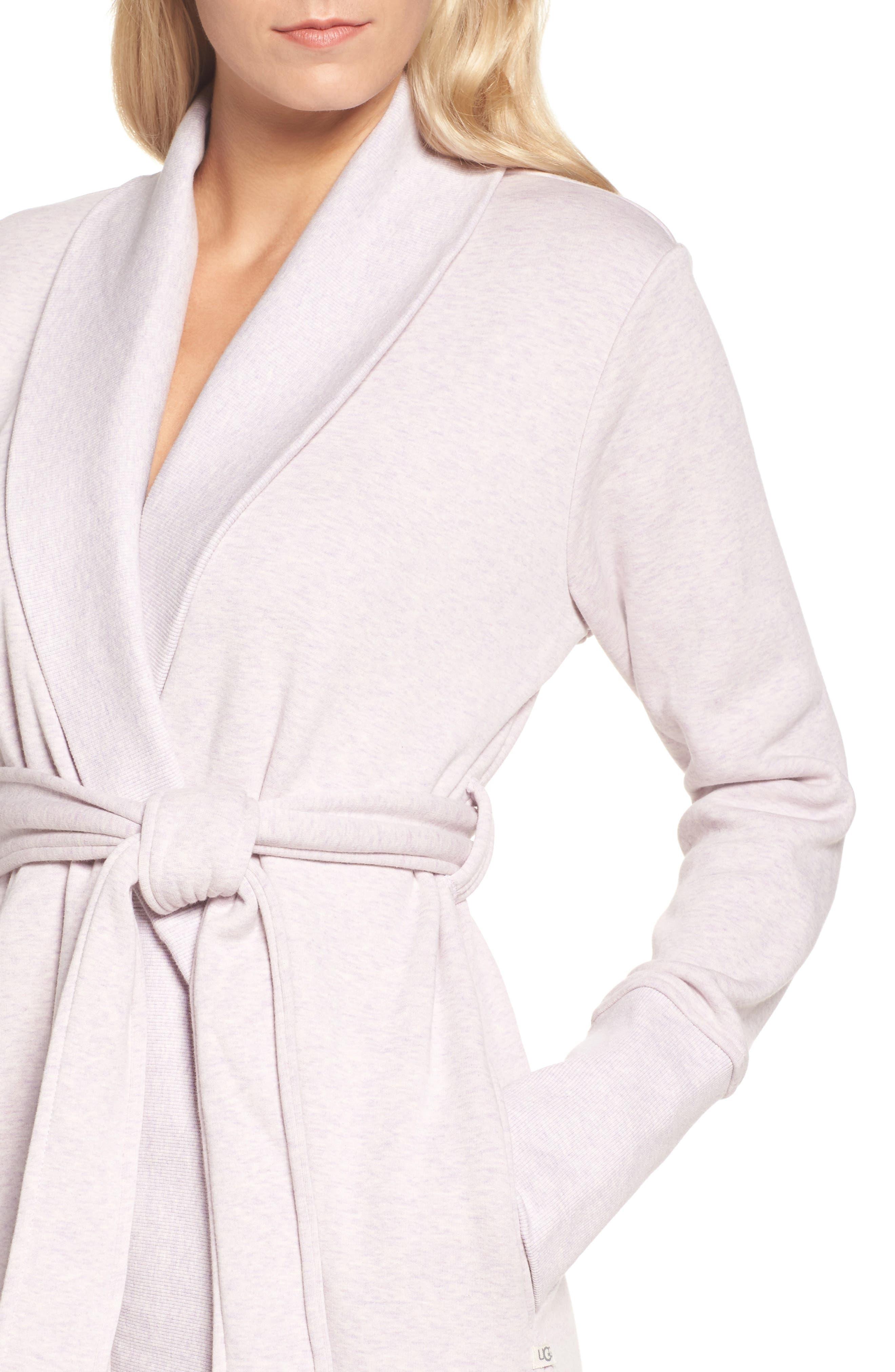 'Karoline' Fleece Robe,                             Alternate thumbnail 4, color,                             650