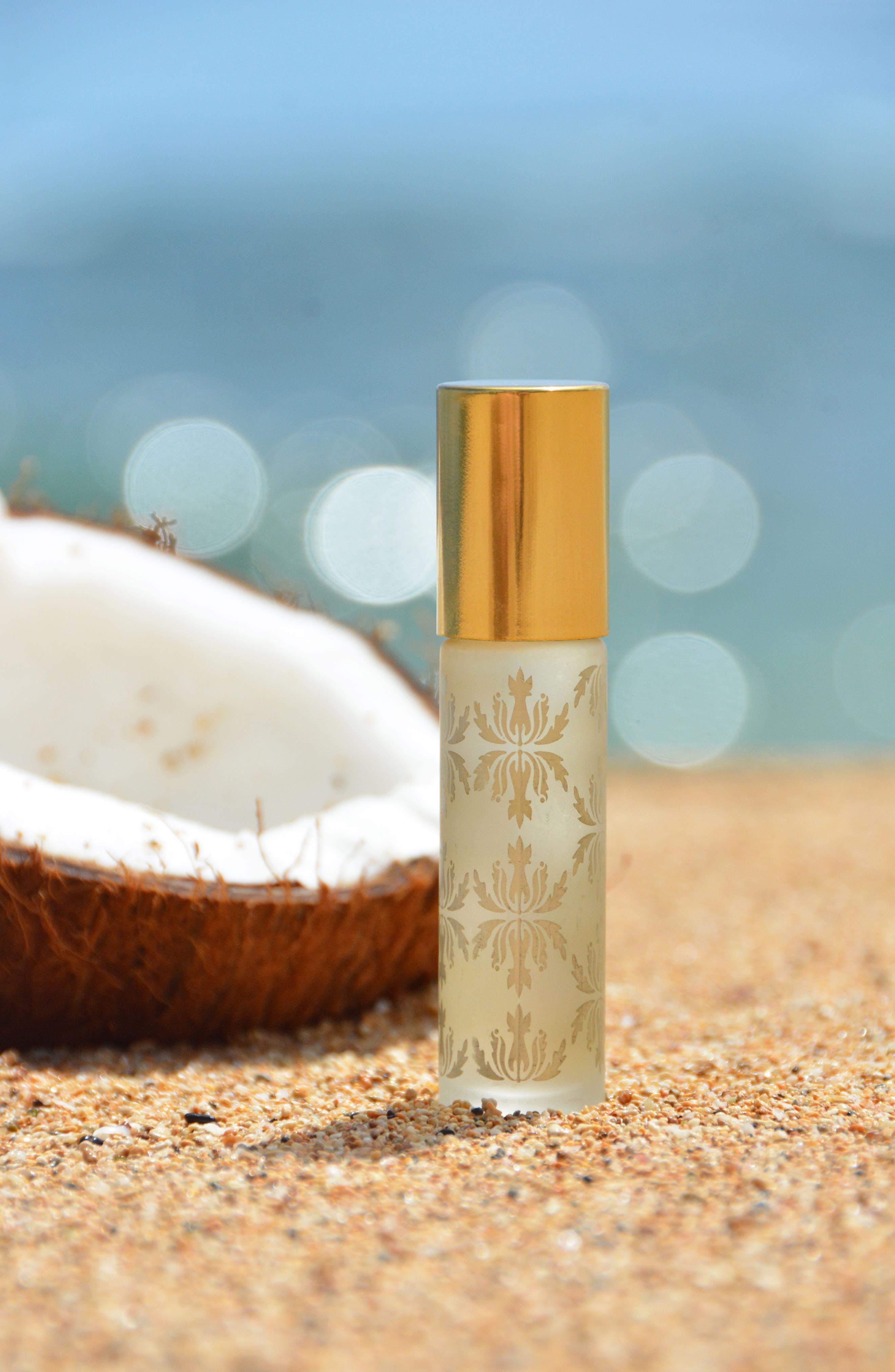 Pikake Organic Roll-On Perfume Oil,                             Alternate thumbnail 4, color,                             NO COLOR