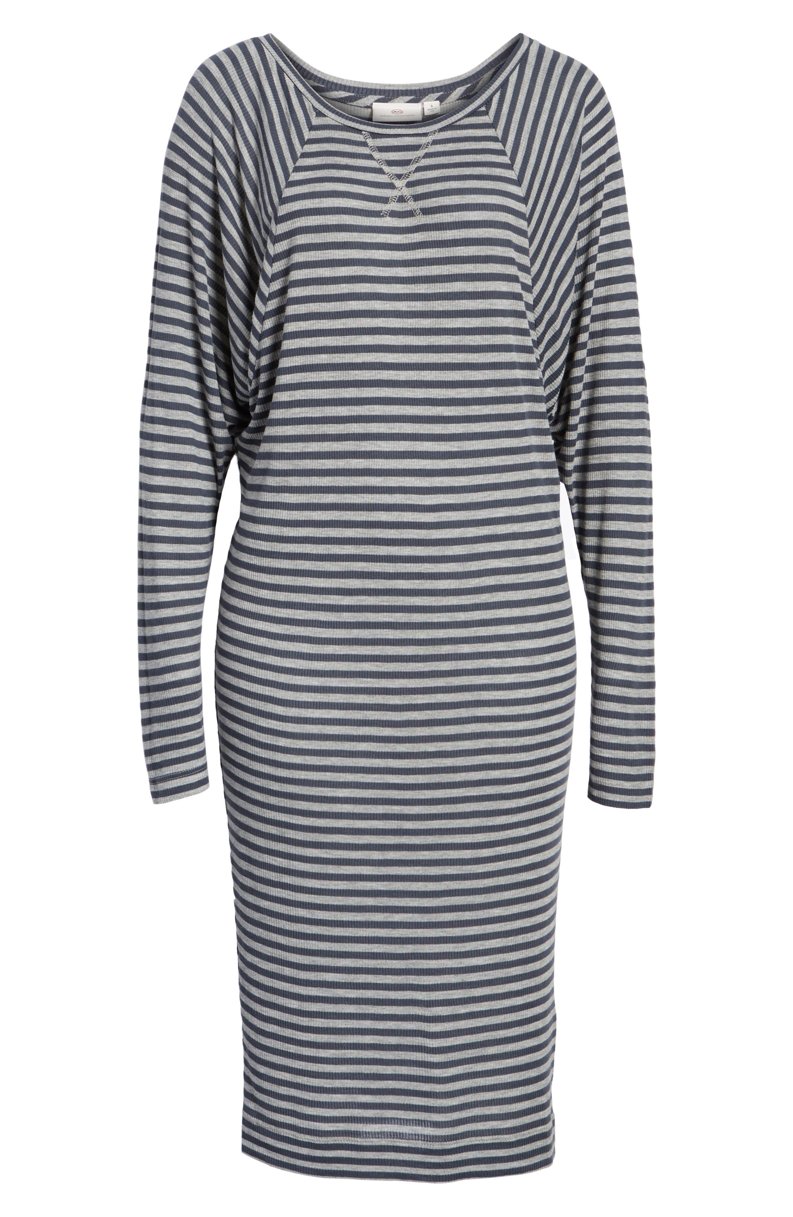 Raglan Midi Dress,                             Alternate thumbnail 6, color,                             486