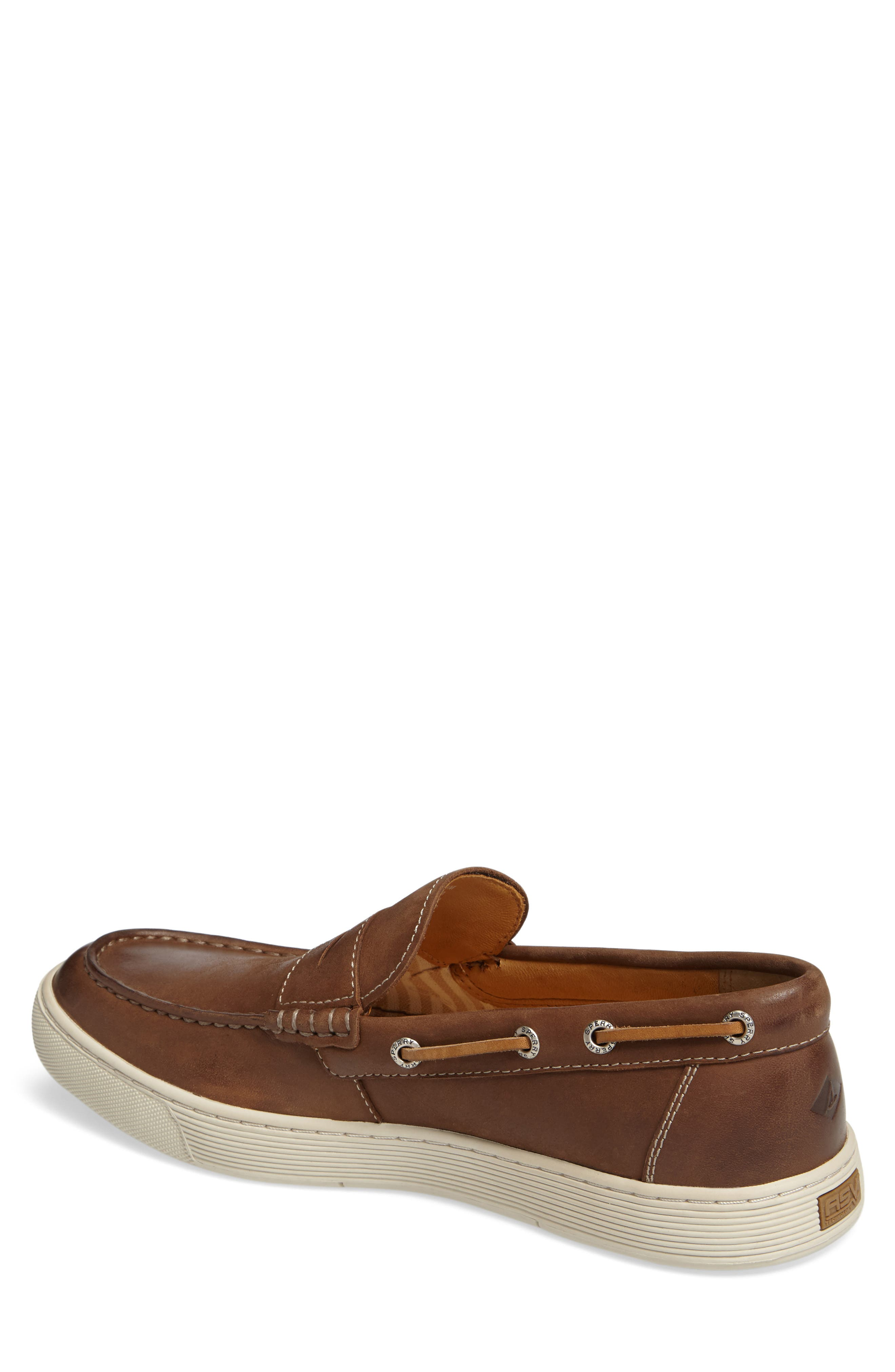 Gold Cup Penny Loafer,                             Alternate thumbnail 4, color,