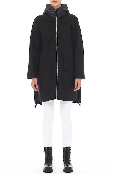 Grenat Wool & Cashmere Hooded Jacket, video thumbnail