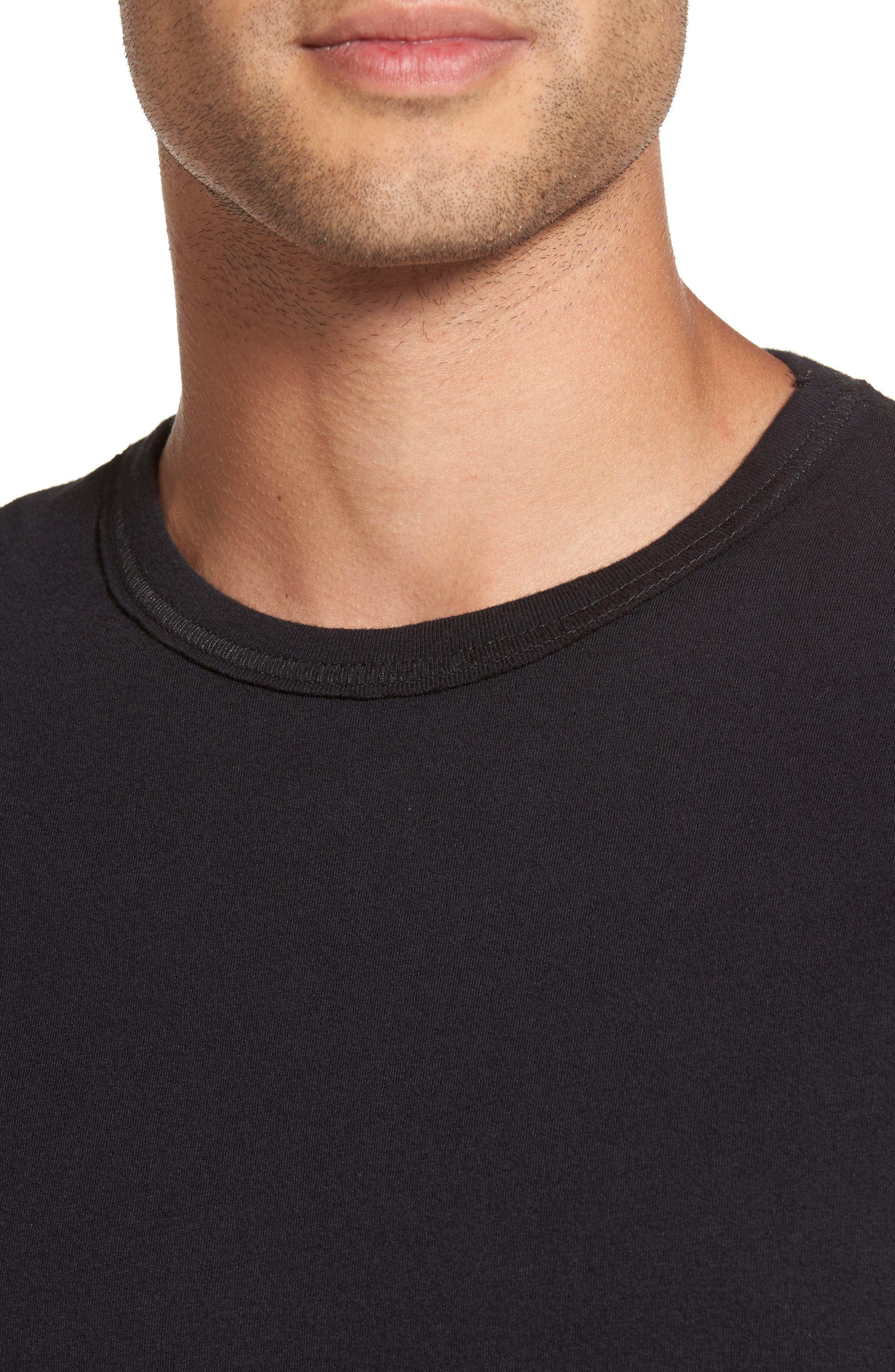 Snake Skull T-Shirt,                             Alternate thumbnail 4, color,