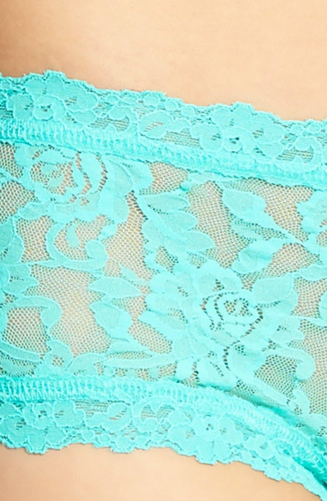 'Signature Lace' Boyshorts,                             Alternate thumbnail 205, color,