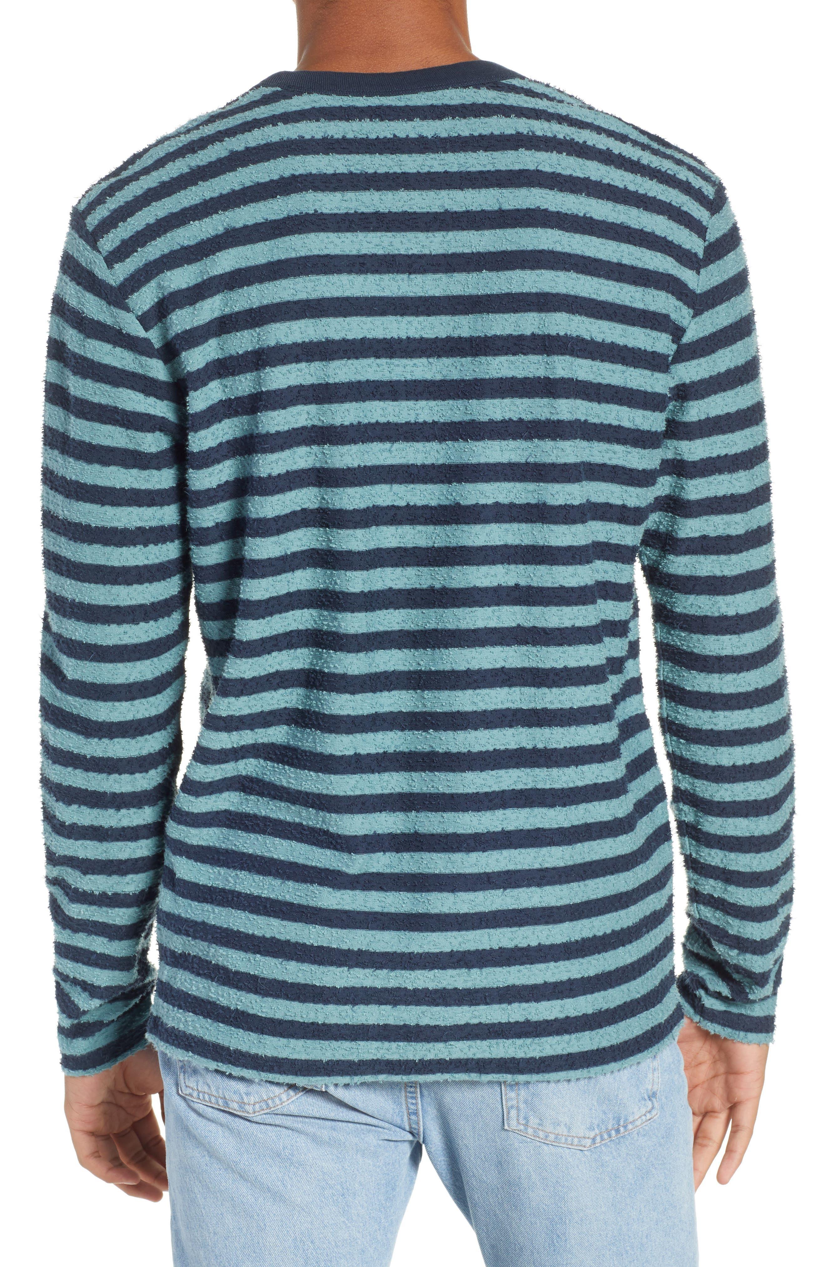 Stripe Slub T-Shirt,                             Alternate thumbnail 2, color,                             ARCTIC TONY