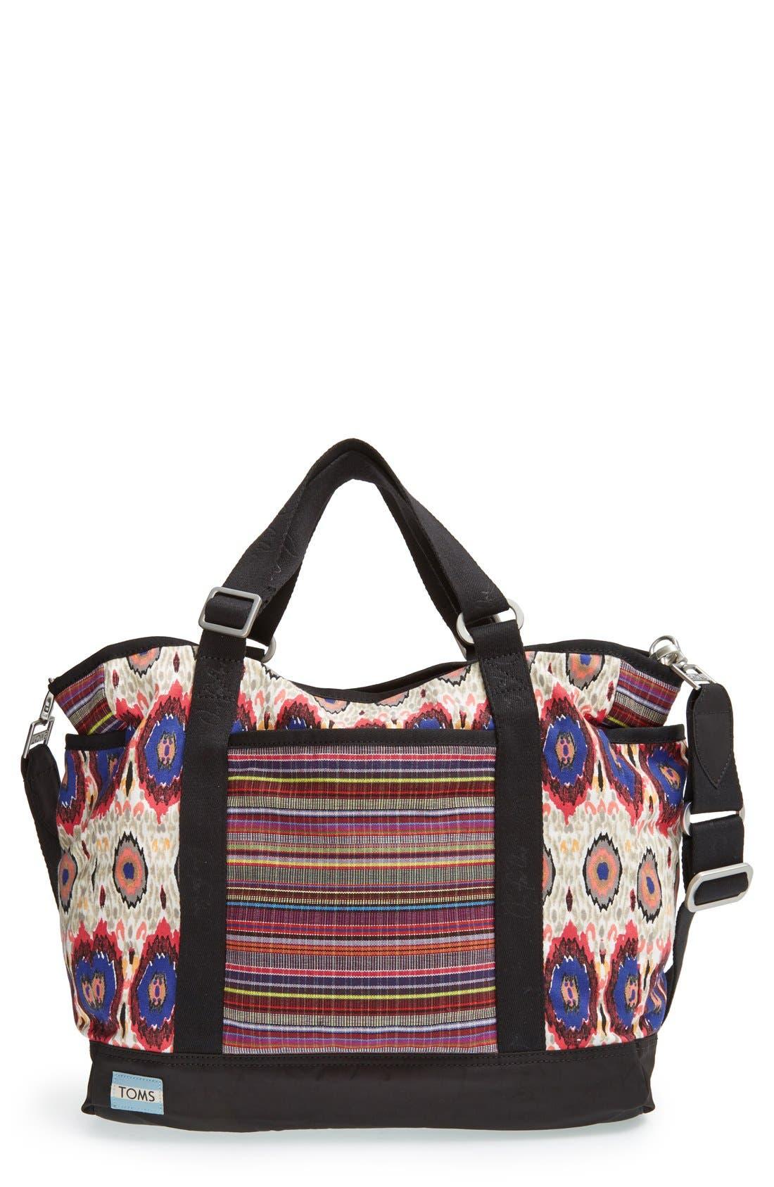 TOMS Mixed Print Baby Bag, Main, color, 650