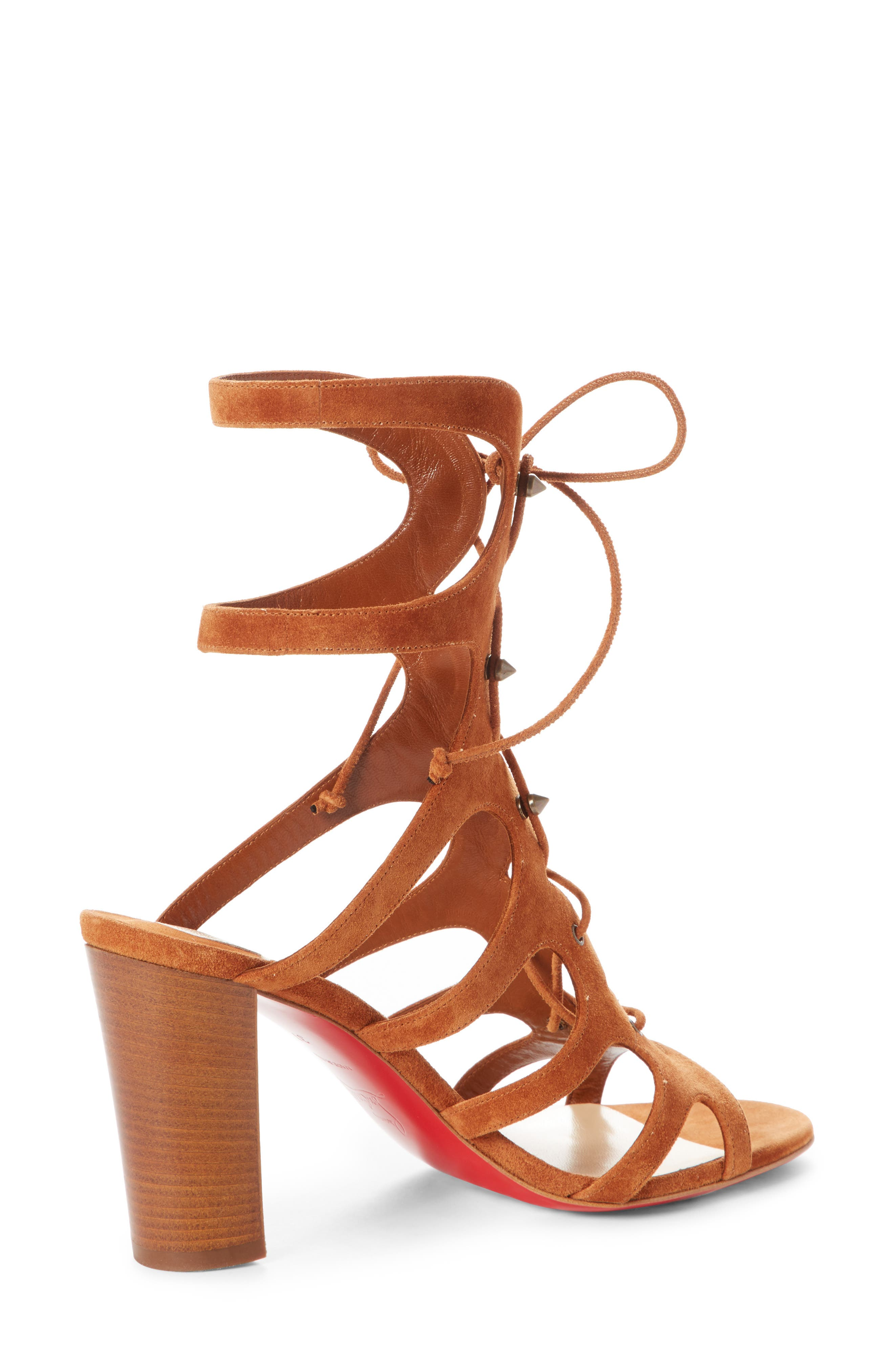 Amazoudur SD Cage Sandal,                             Alternate thumbnail 4, color,