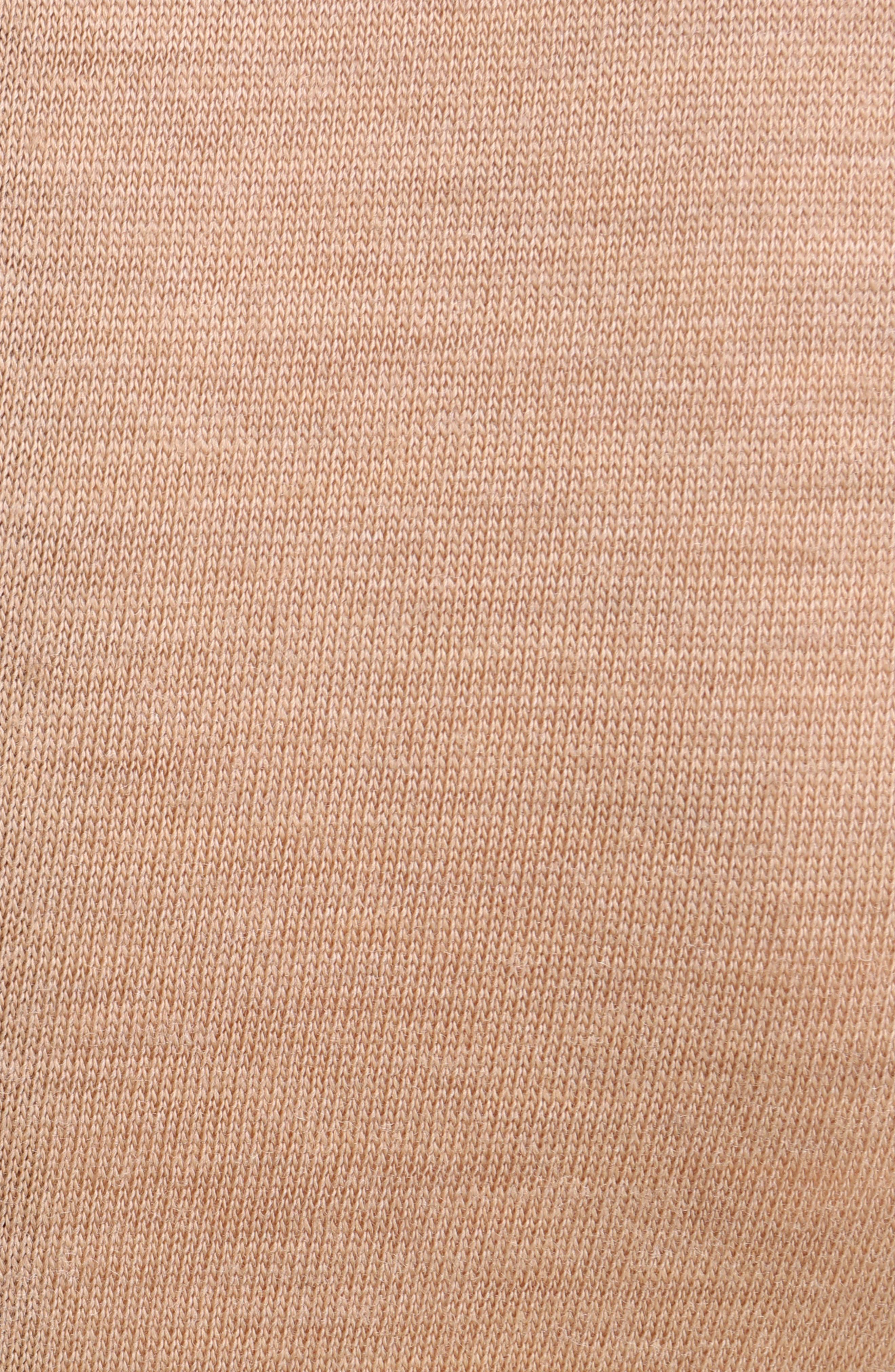 Ruffled Wool Sweatshirt,                             Alternate thumbnail 5, color,                             280