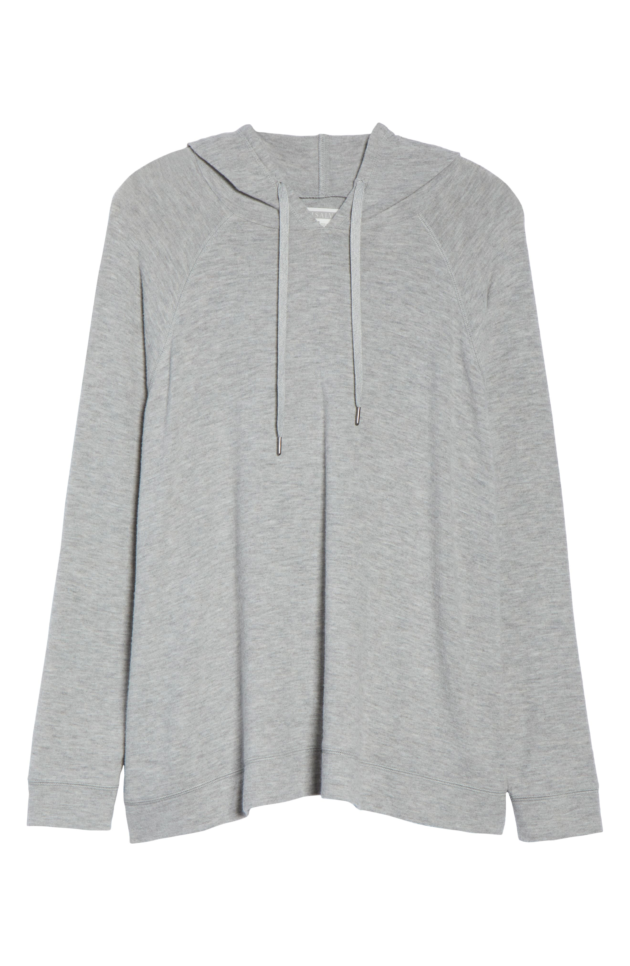 Love is a Battle Hoodie,                             Alternate thumbnail 6, color,                             H GREY