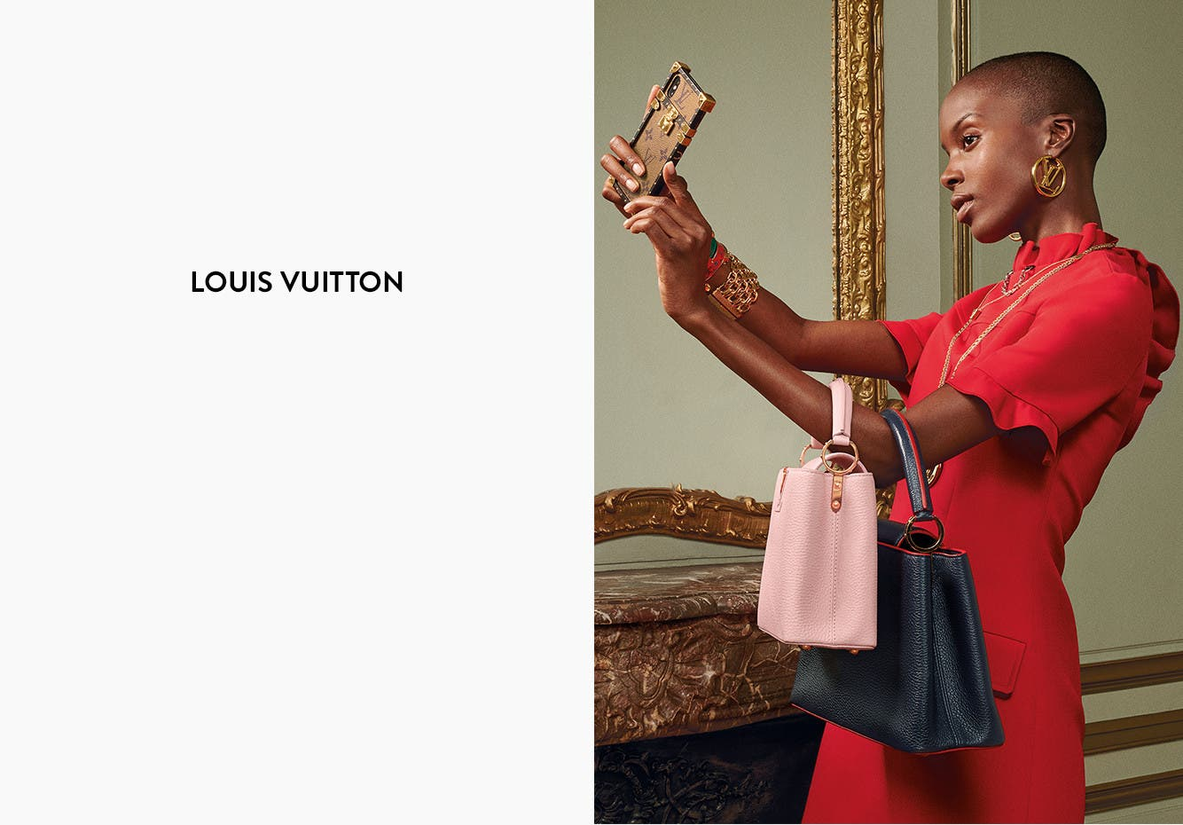 Louis Vuitton for women.
