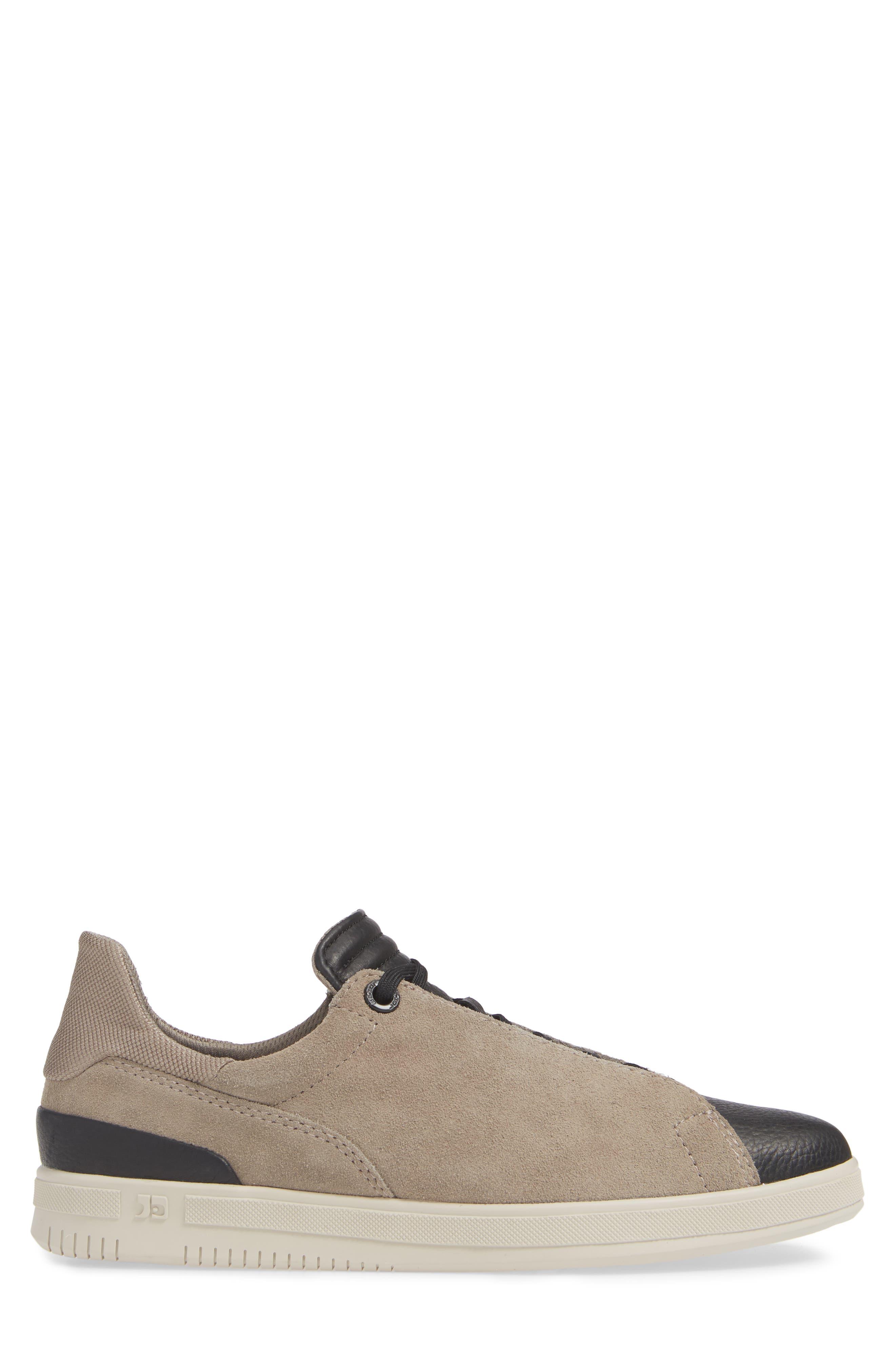 Joe Papa Low Top Sneaker,                             Alternate thumbnail 3, color,                             STONE/ BLACK