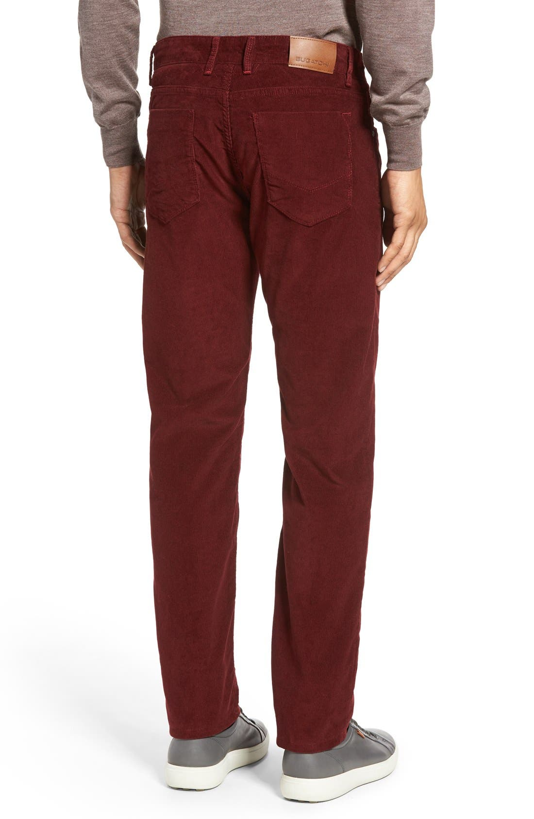 Slim Fit Corduroy Pants,                             Alternate thumbnail 12, color,