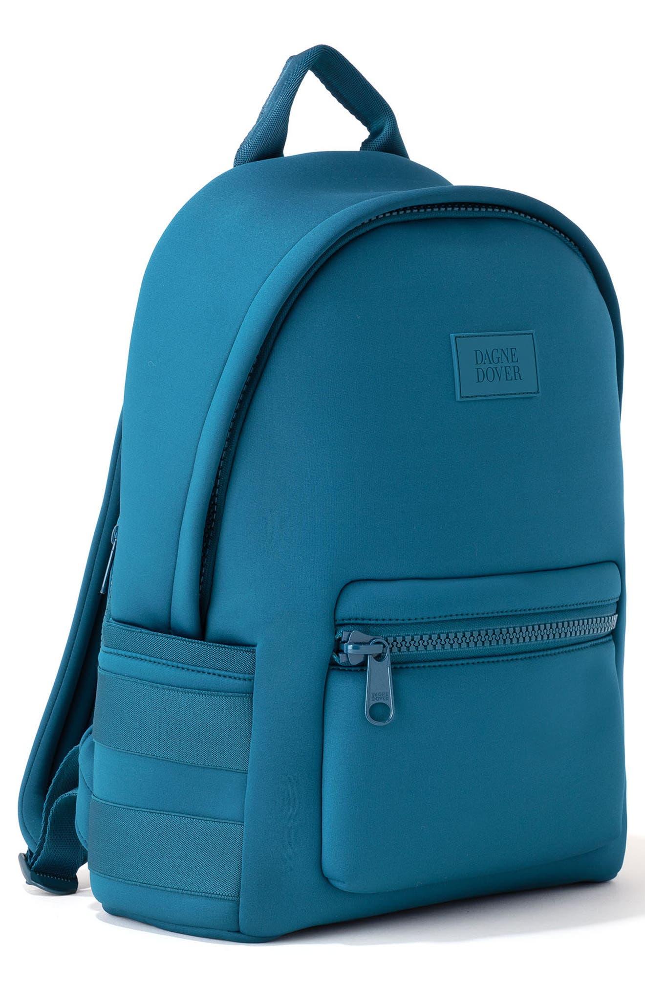 DAGNE DOVER,                             365 Dakota Neoprene Backpack,                             Alternate thumbnail 5, color,                             BAY BLUE