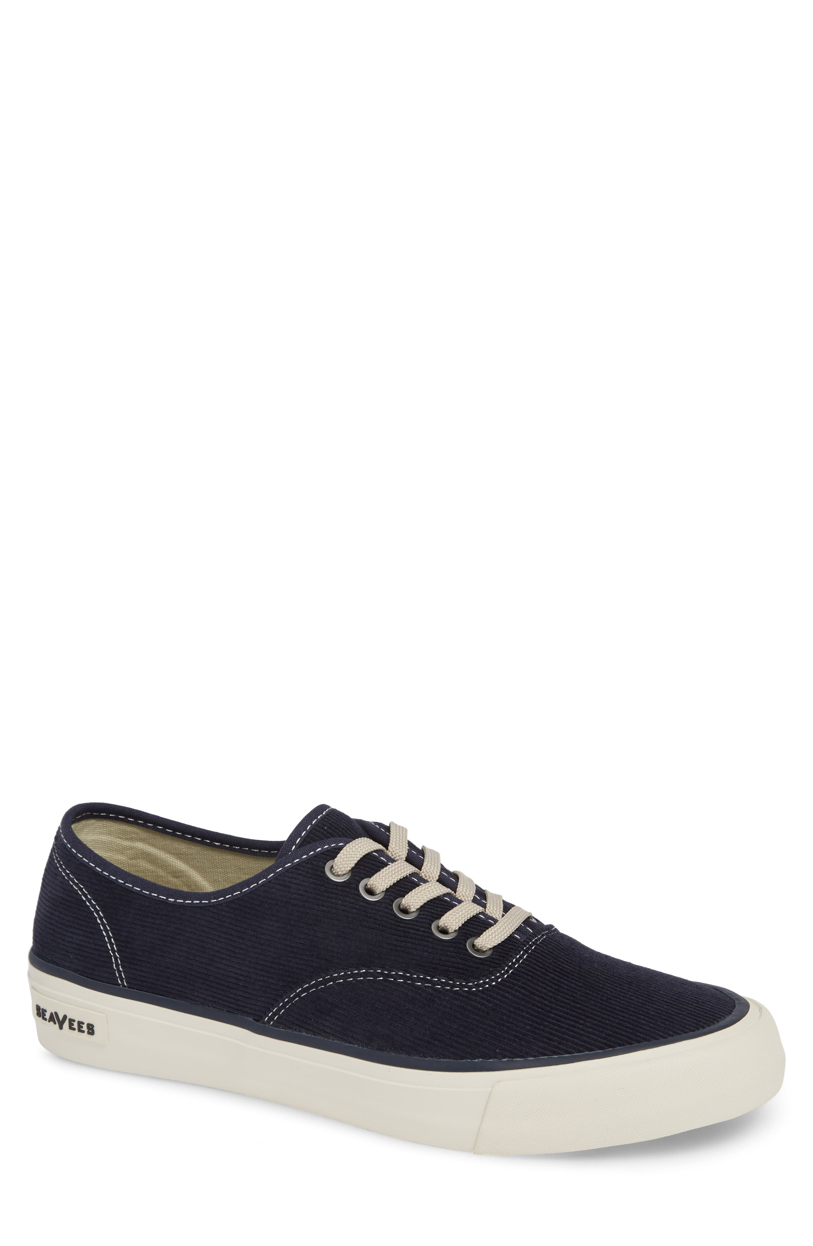 Legend Cordies Sneaker,                         Main,                         color, DEEP NAVY