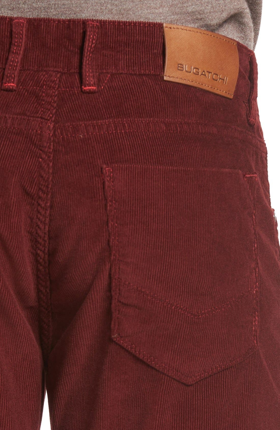 Slim Fit Corduroy Pants,                             Alternate thumbnail 24, color,