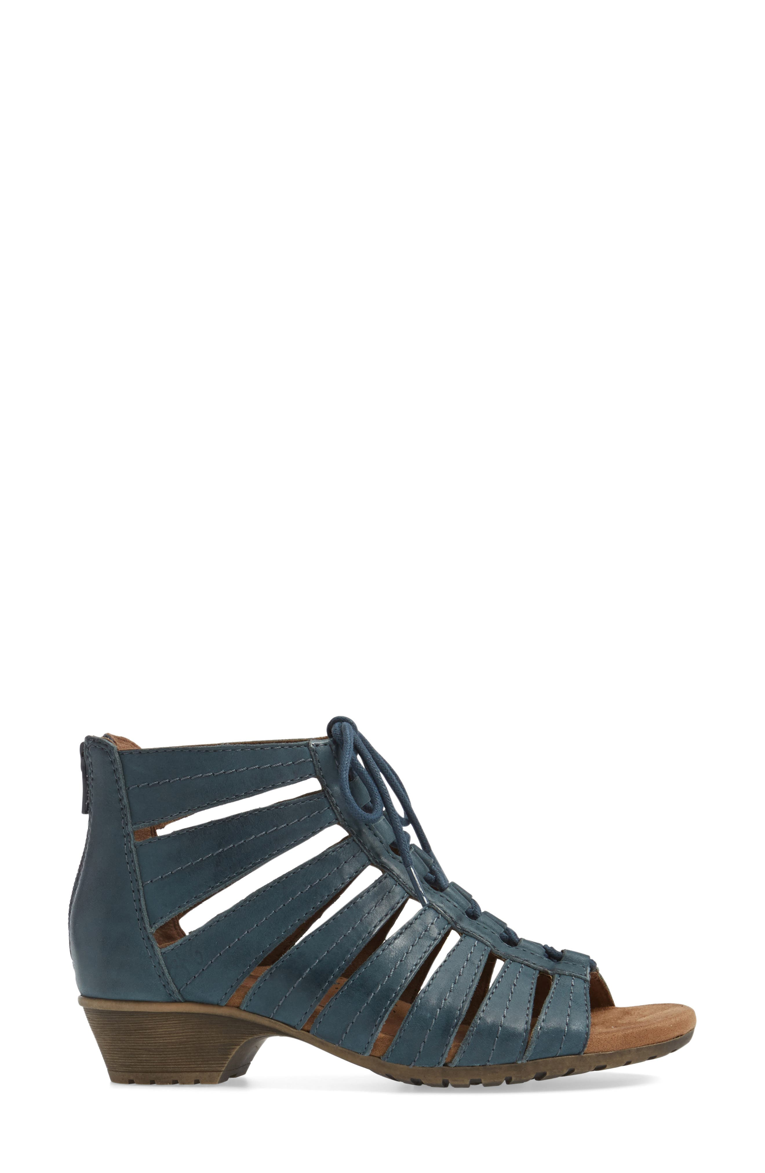 'Gabby' Lace-Up Sandal,                             Alternate thumbnail 23, color,