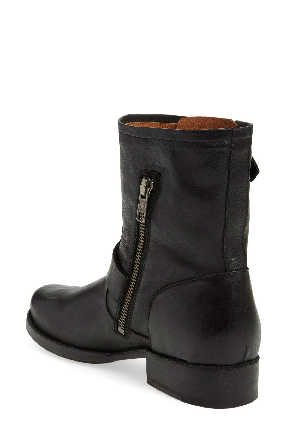 'Vicky Engineer' Boot,                             Alternate thumbnail 2, color,                             001