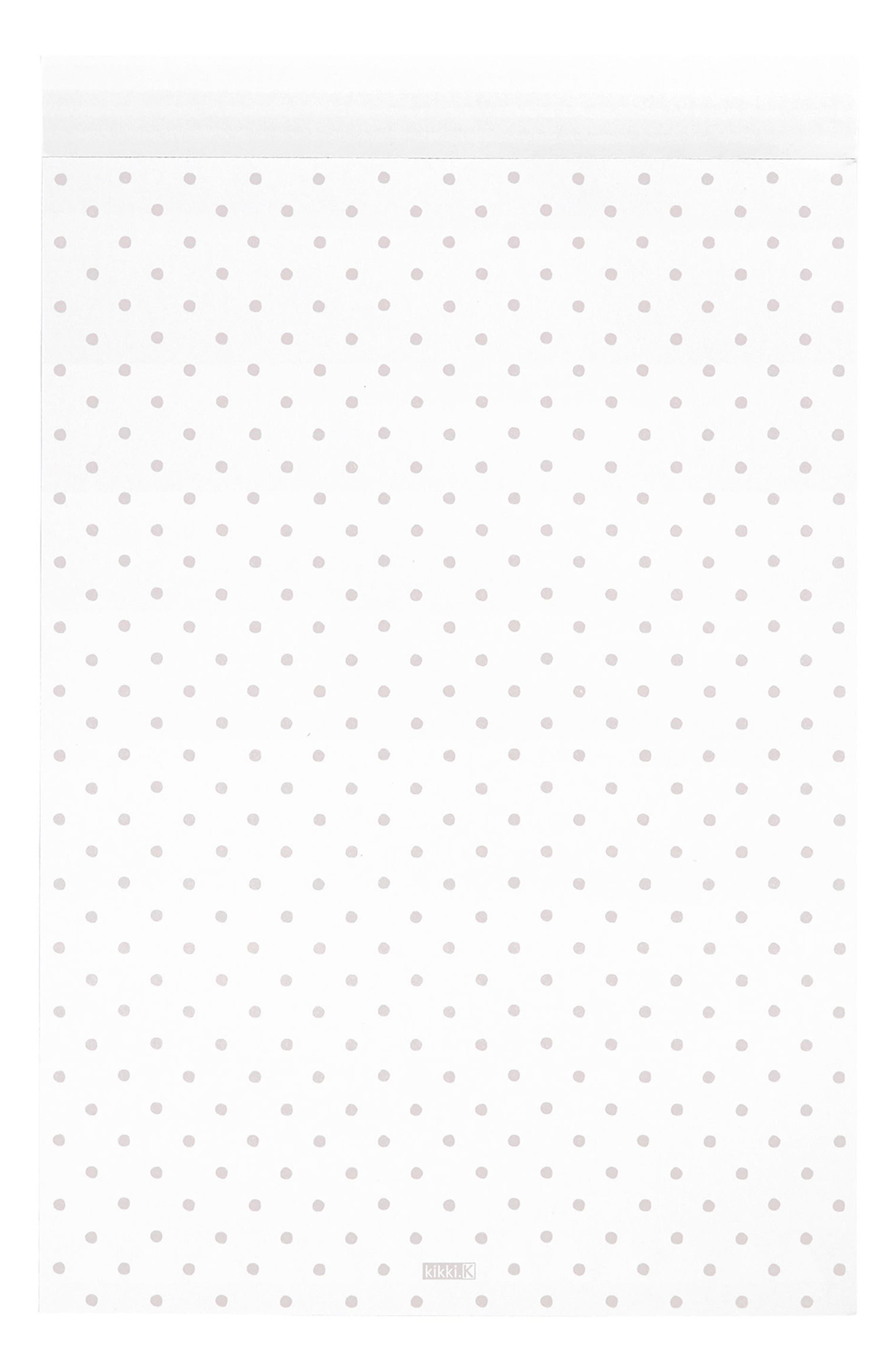 B5 Print Notepad,                             Alternate thumbnail 2, color,                             020