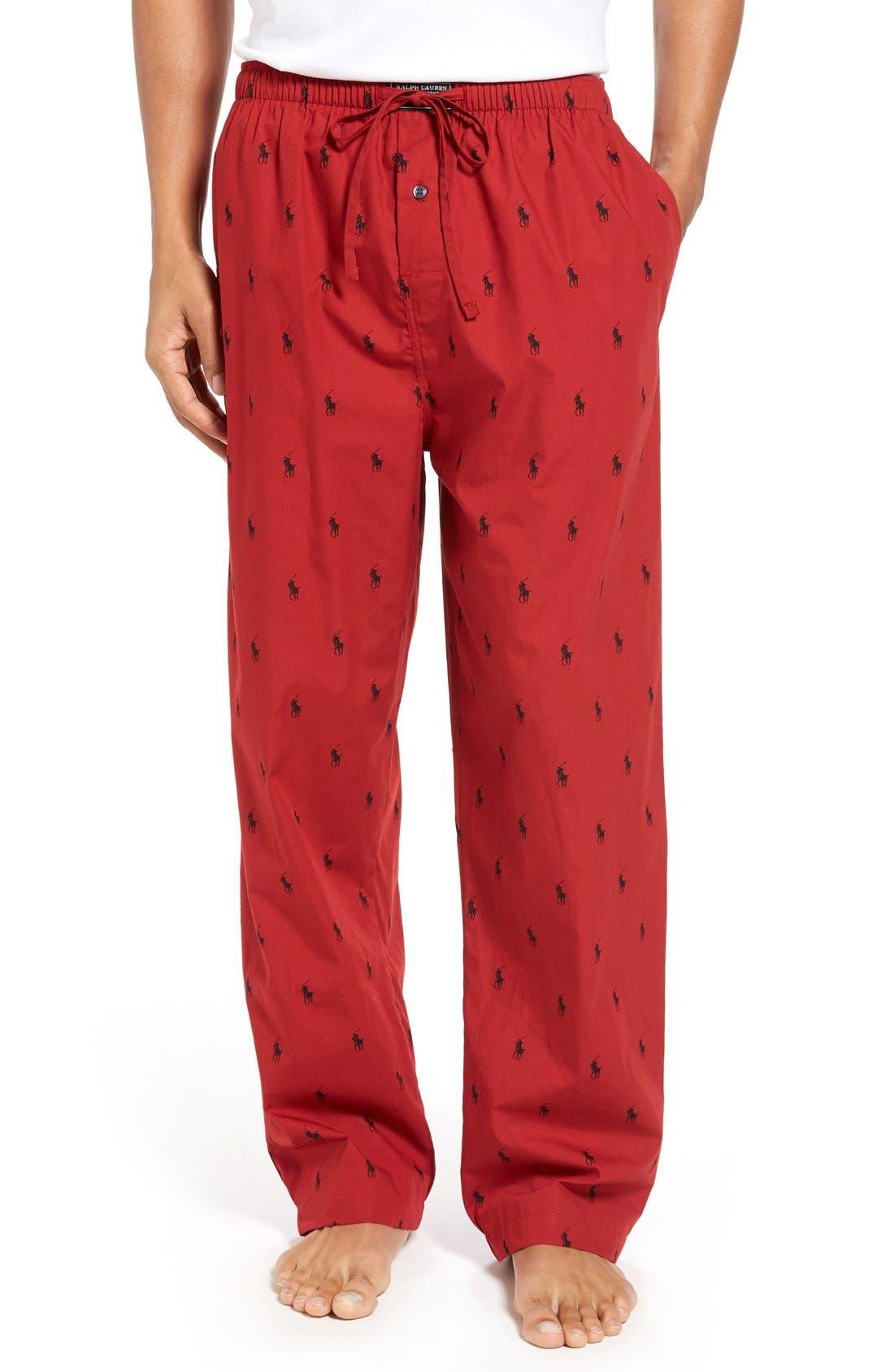 Cotton Lounge Pants,                             Main thumbnail 11, color,