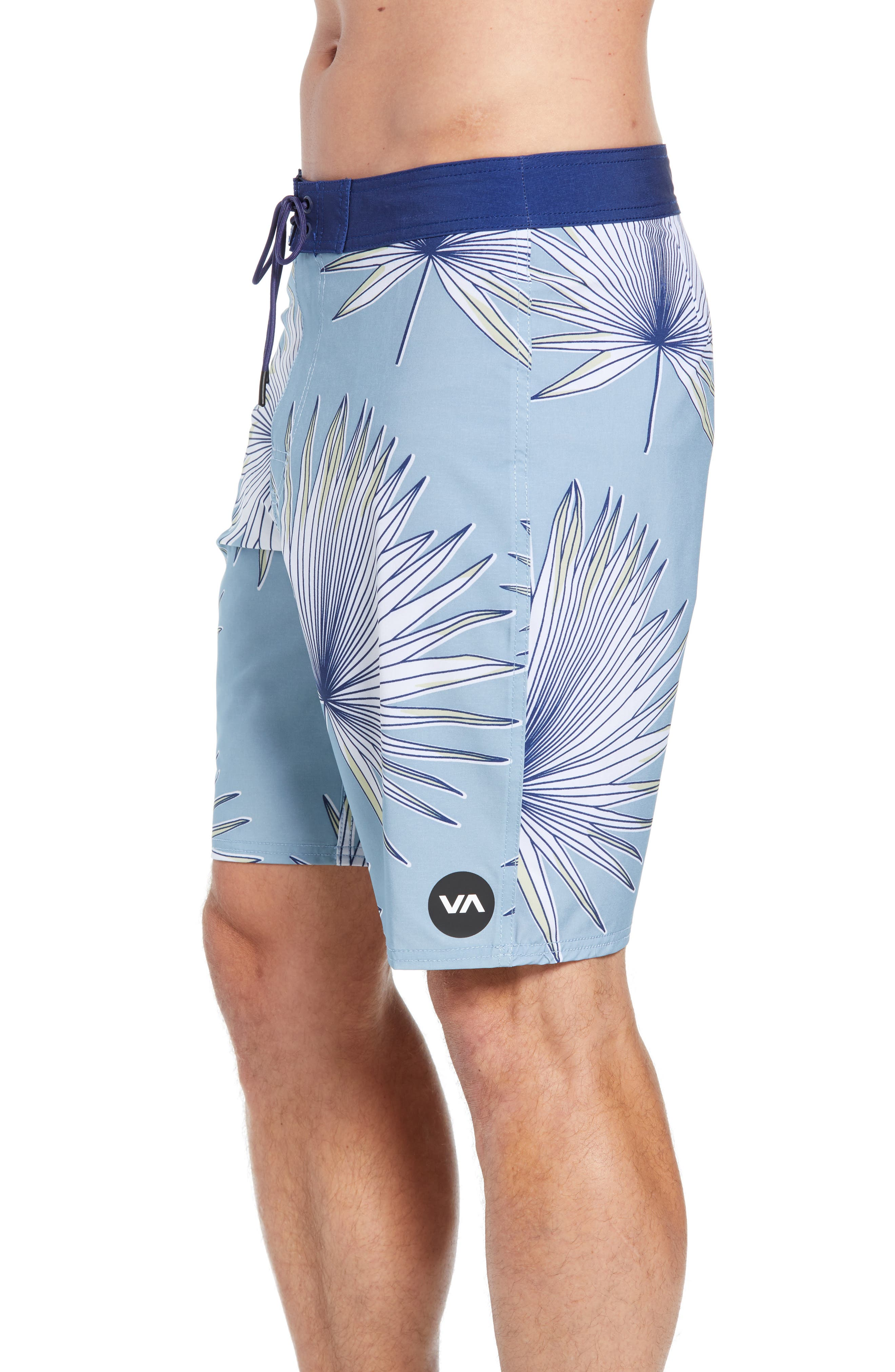 Varca Board Shorts,                             Alternate thumbnail 4, color,                             DUSTY BLUE