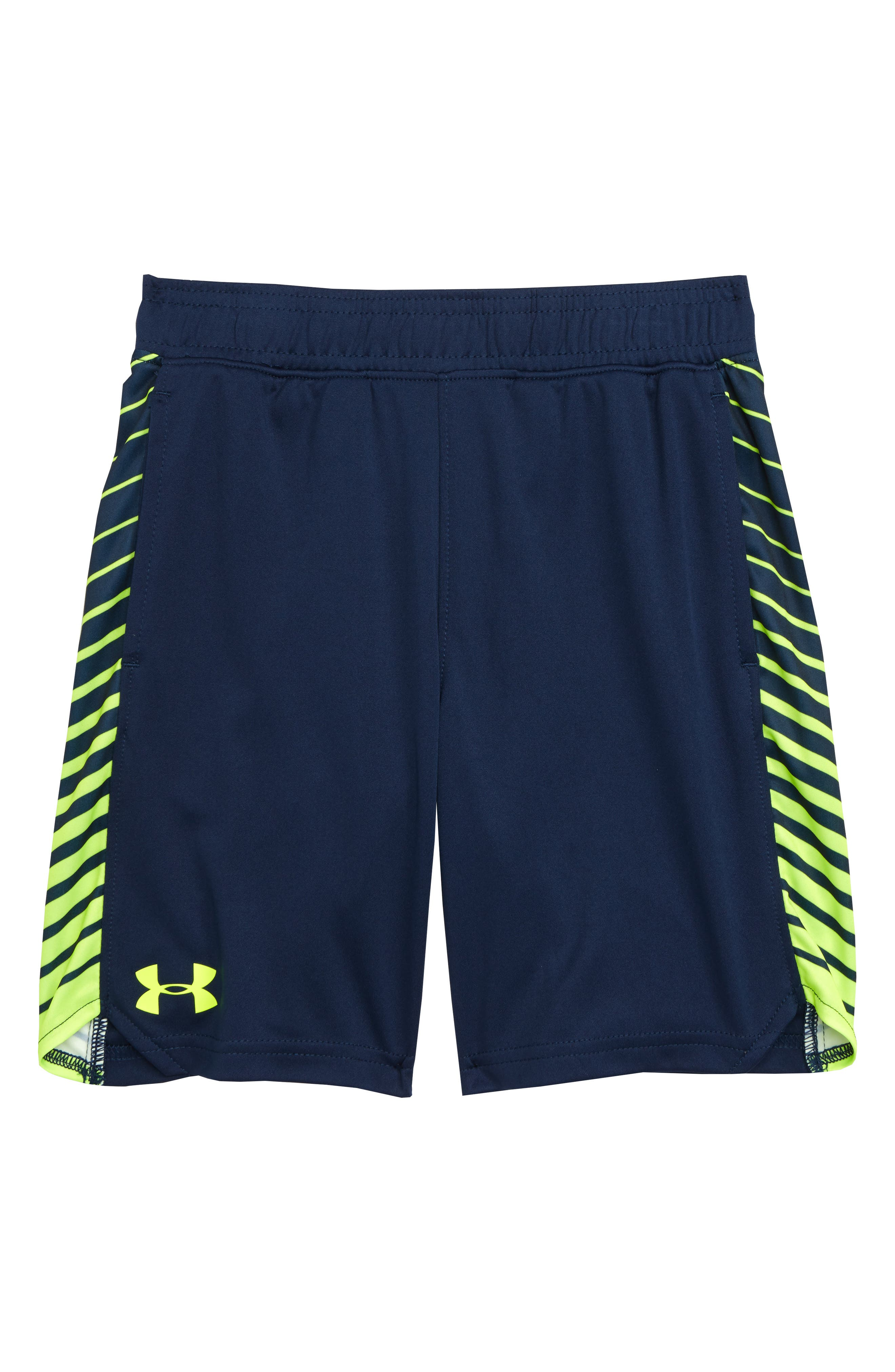 Toddler Boys Under Armour Half Back Heatgear Shorts Size 4T  Blue