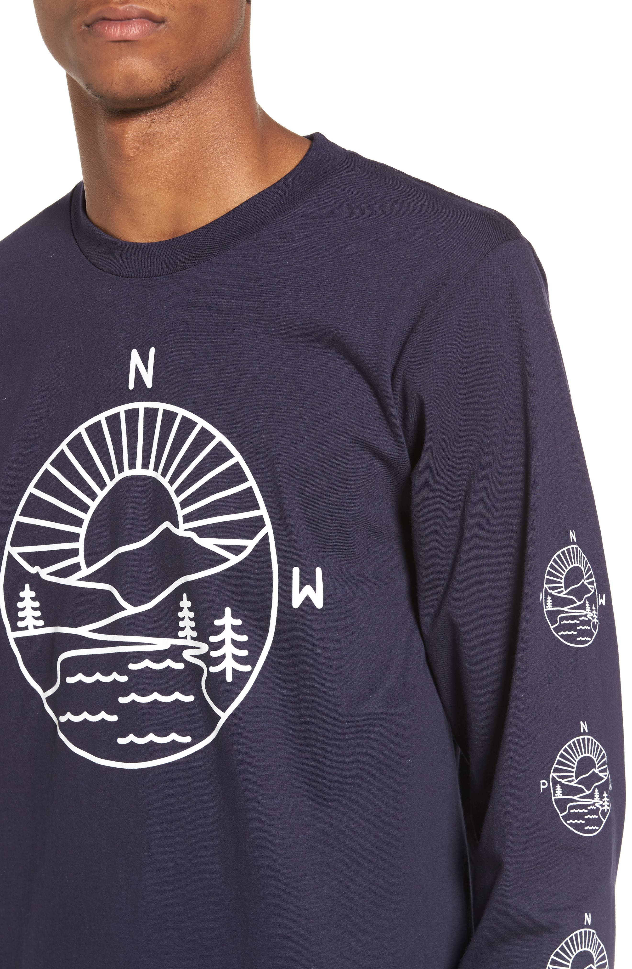 PNW Explorer T-Shirt,                             Alternate thumbnail 4, color,