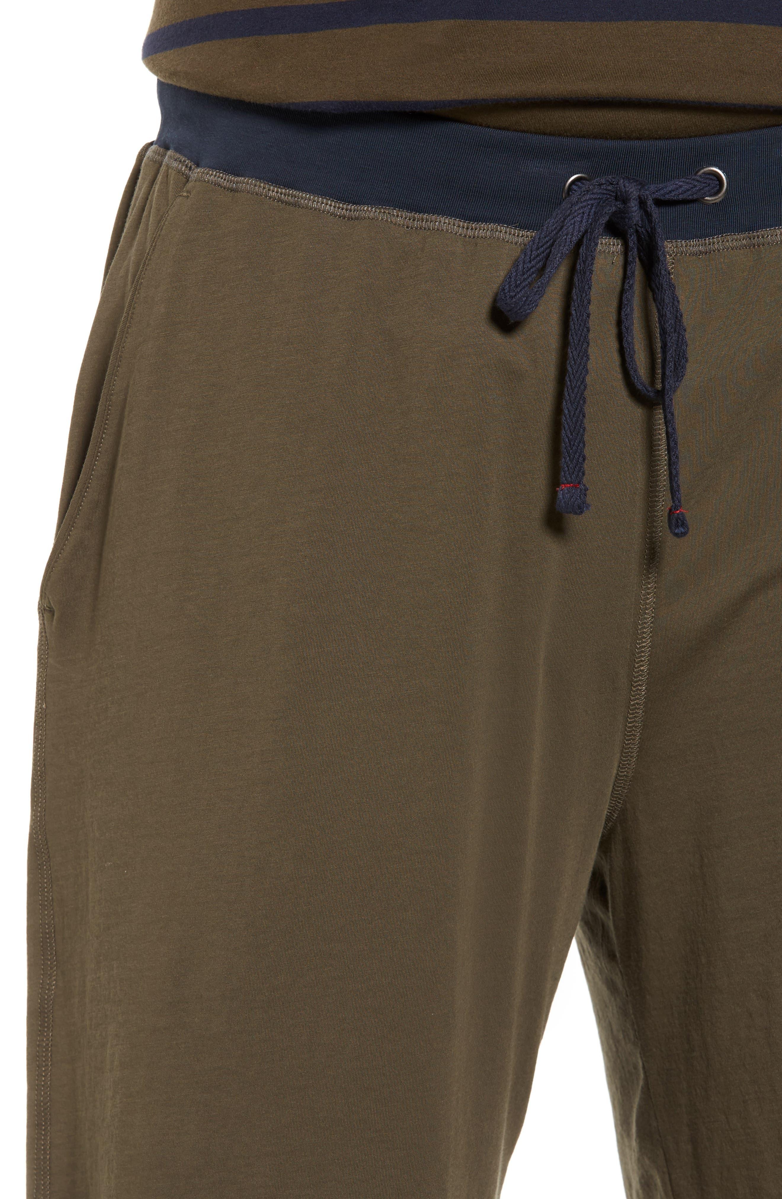 Peruvian Pima Cotton Lounge Shorts,                             Alternate thumbnail 7, color,