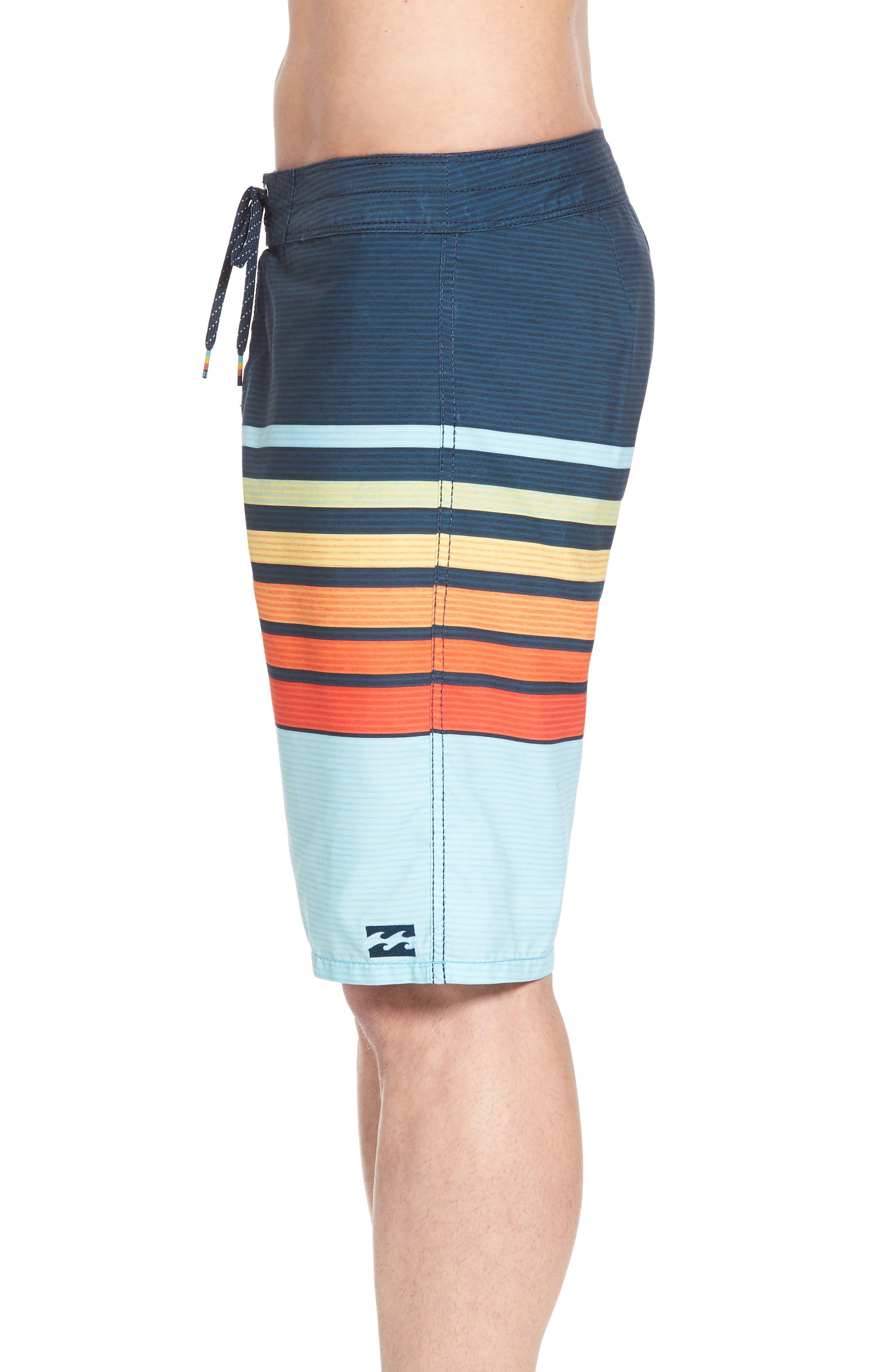 All Day OG Stripe Board Shorts,                             Alternate thumbnail 12, color,