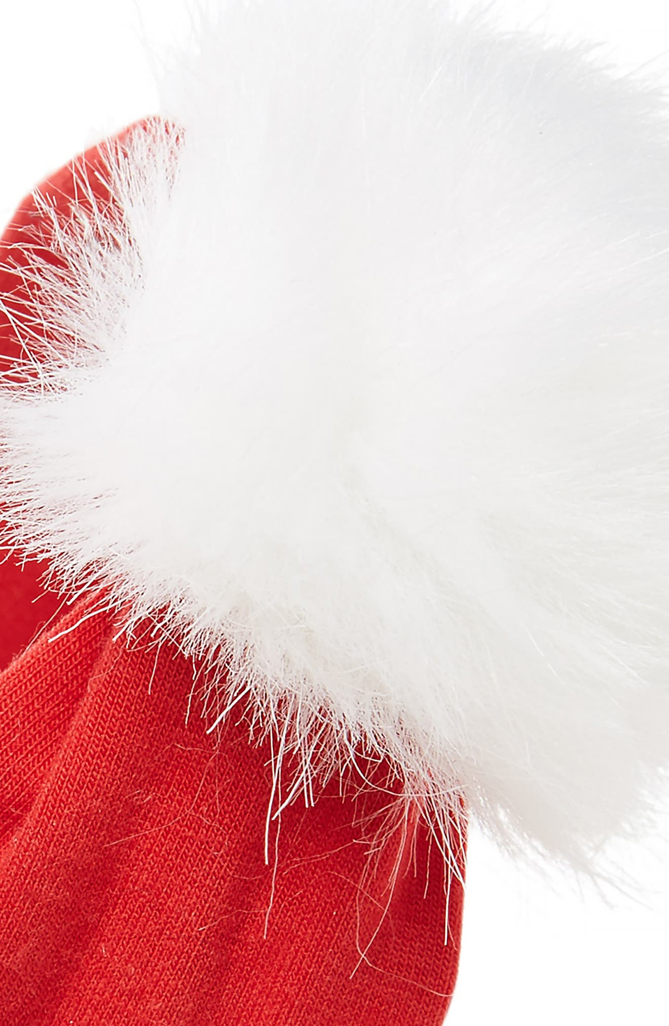 Faux Fur Pompom Headband,                             Alternate thumbnail 2, color,                             600