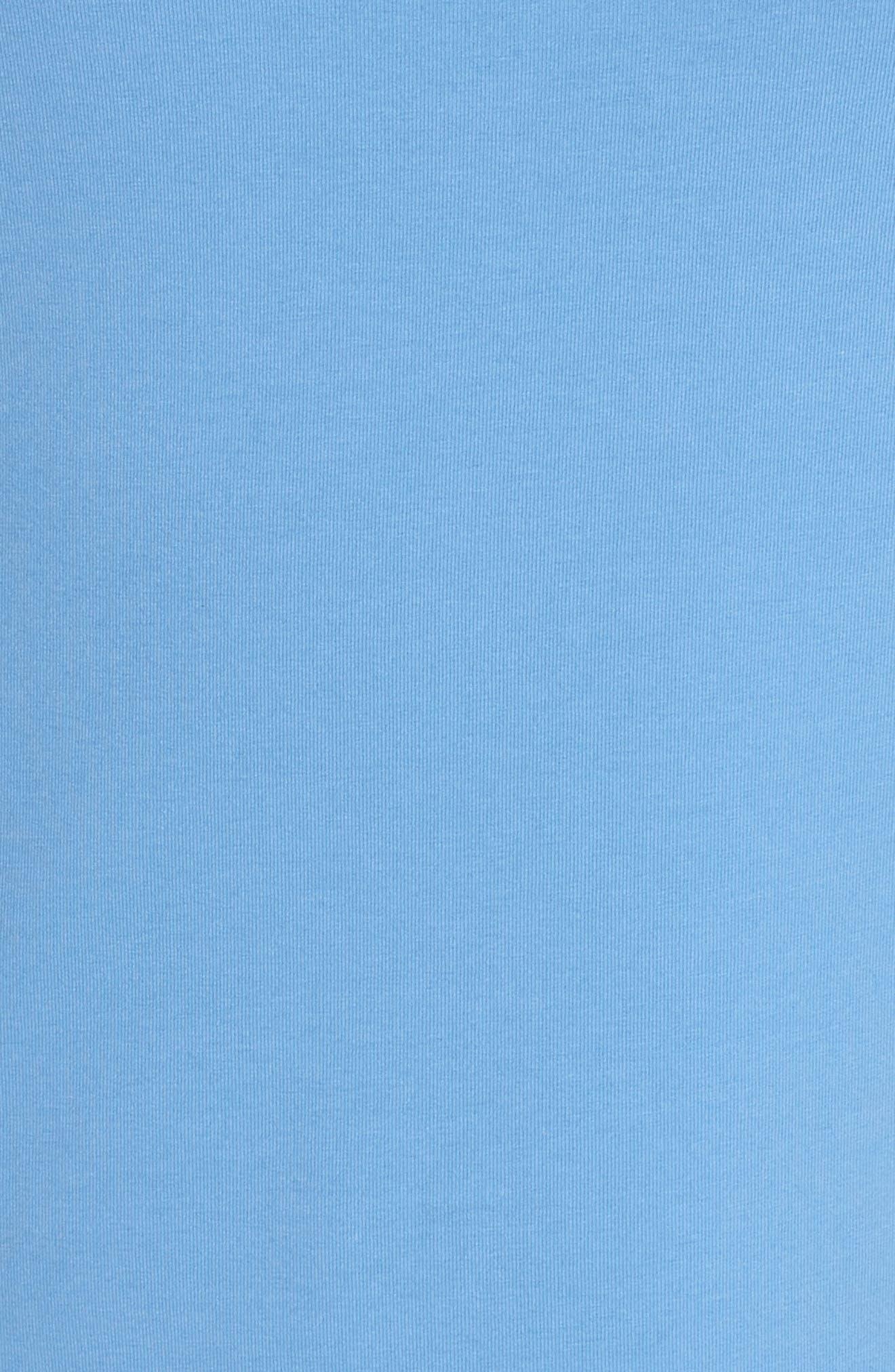 Perfect Scoop Neck Tank,                             Alternate thumbnail 5, color,                             BLUE HAZE