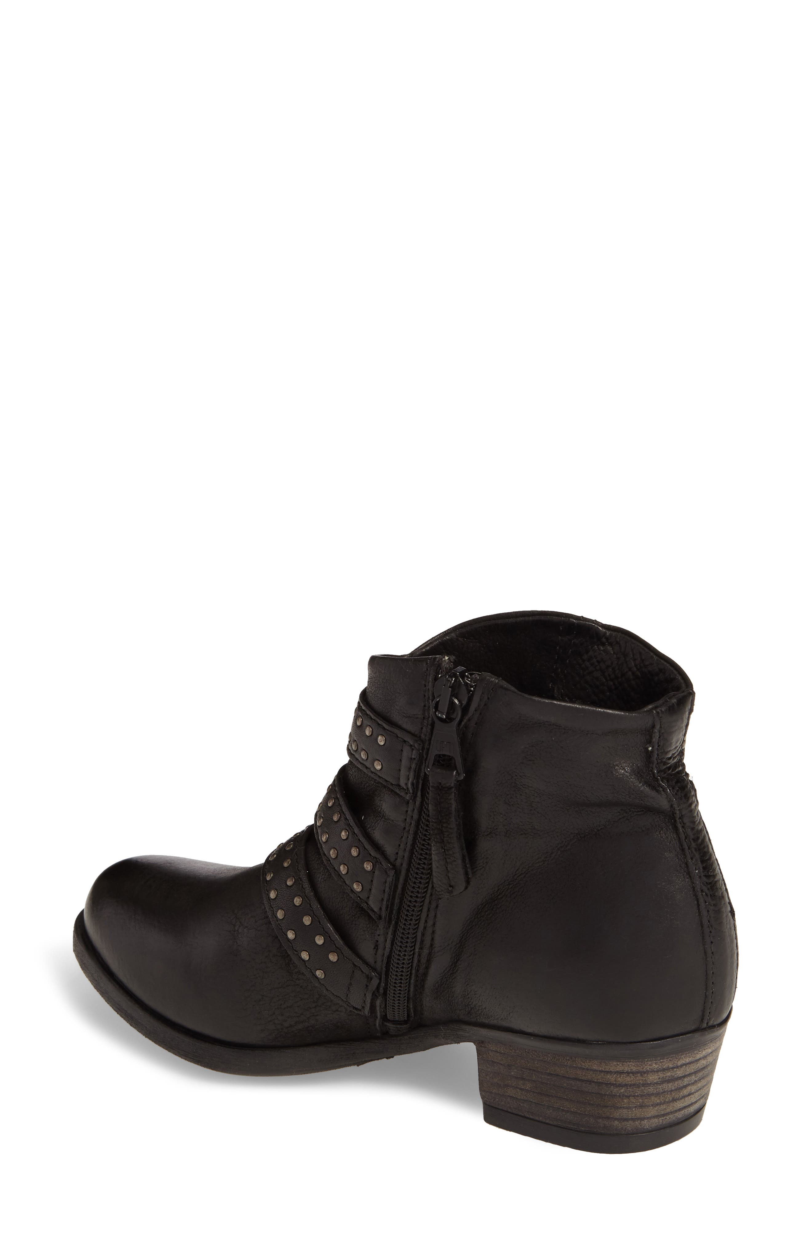 Barclay Studded Moto Bootie,                             Alternate thumbnail 2, color,                             001