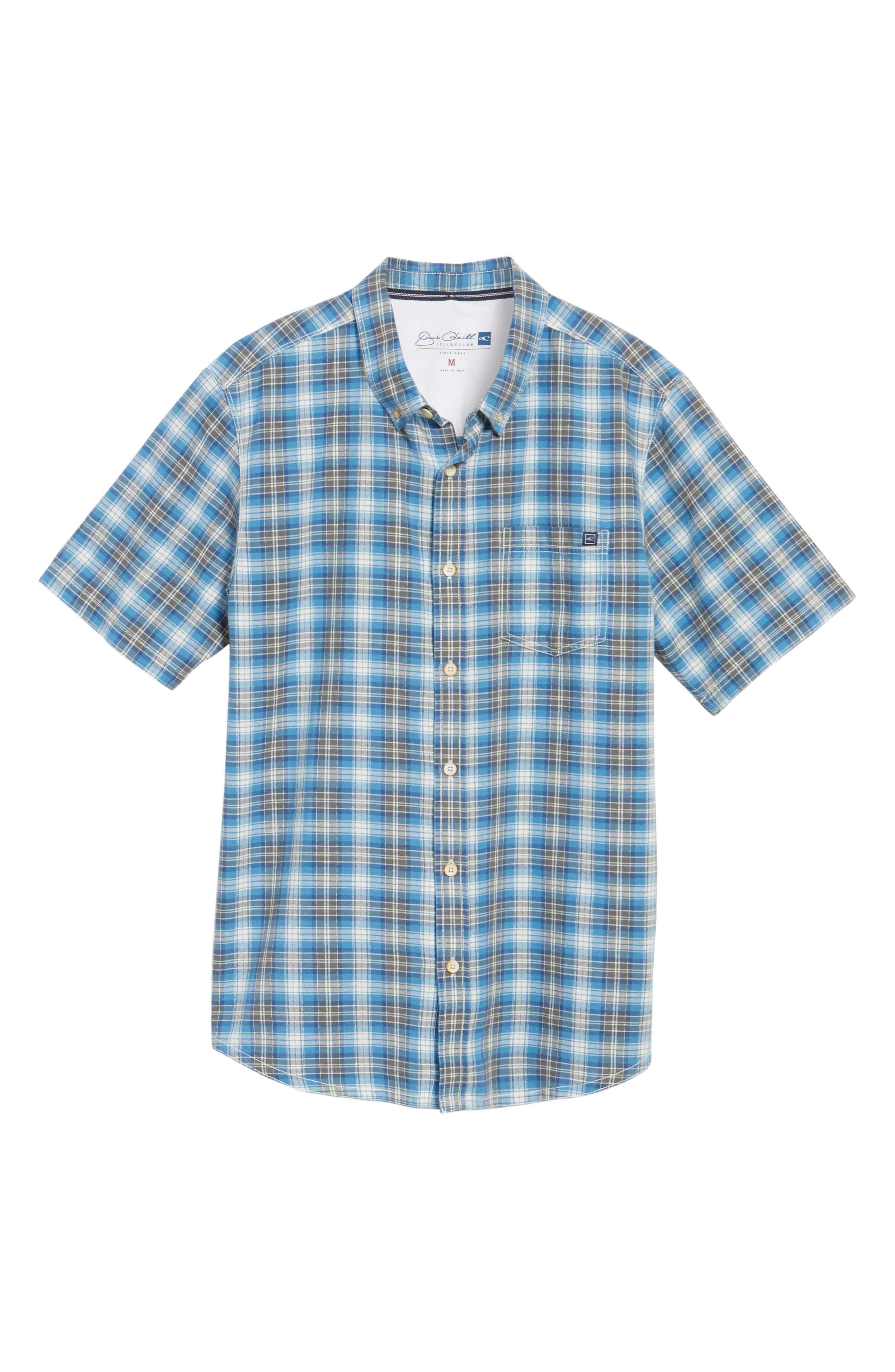 Voyager Plaid Sport Shirt,                             Alternate thumbnail 12, color,