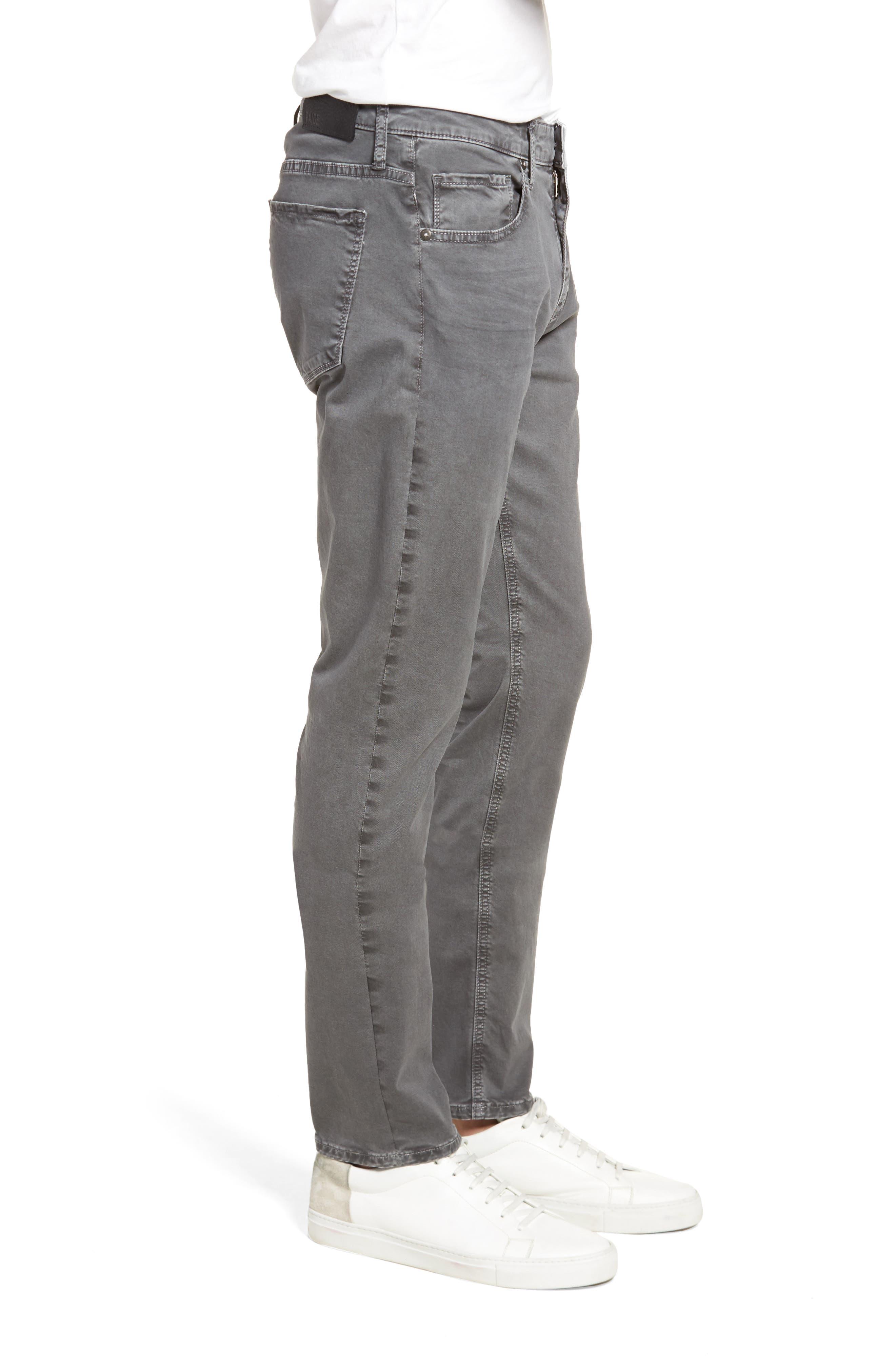 Lennox Slim Fit Five-Pocket Pants,                             Alternate thumbnail 3, color,                             VINTAGE THUNDER GREY