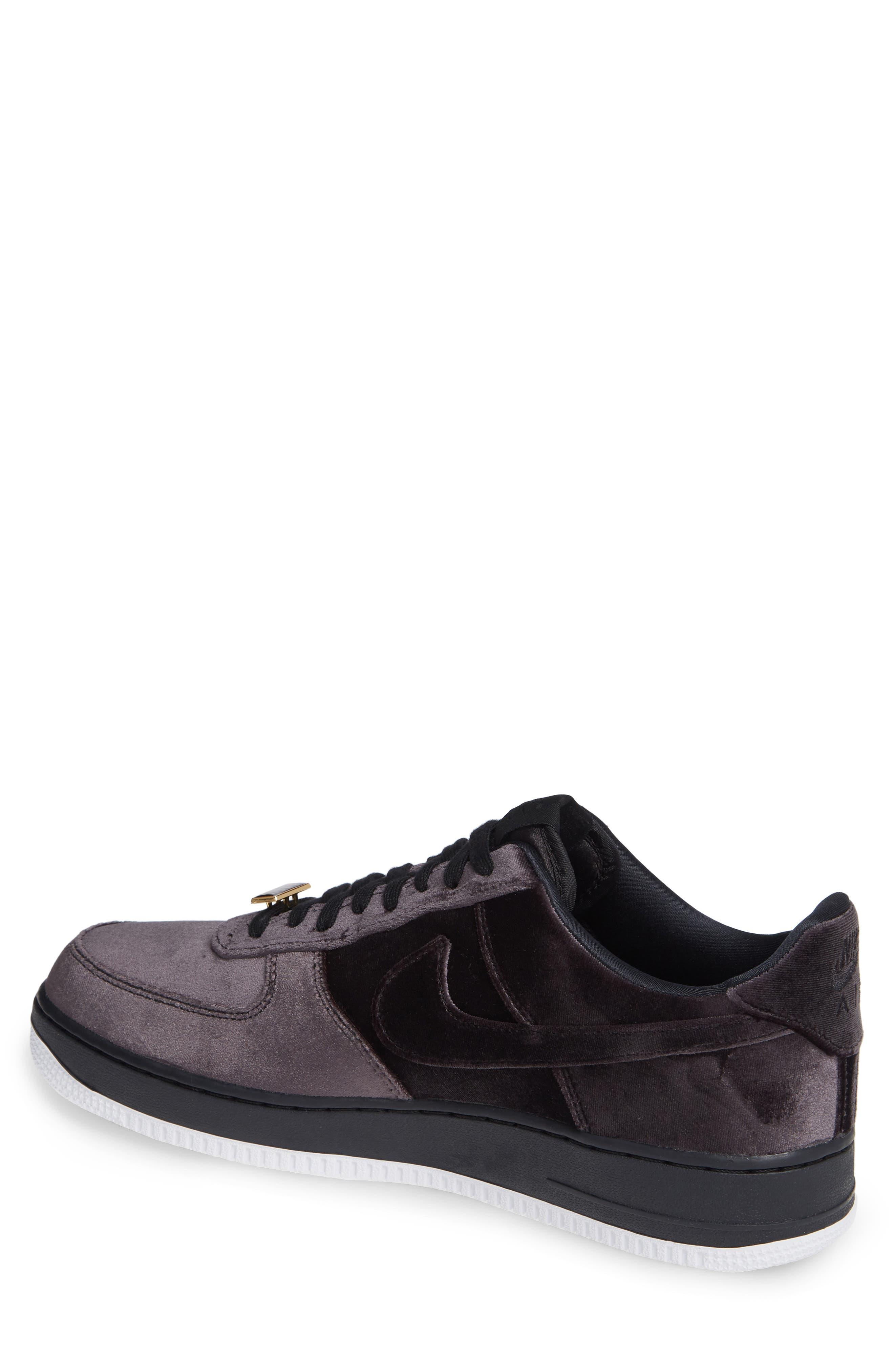 Air Force 1 '07 QS Sneaker,                             Alternate thumbnail 2, color,                             BLACK/ BLACK/ WHITE