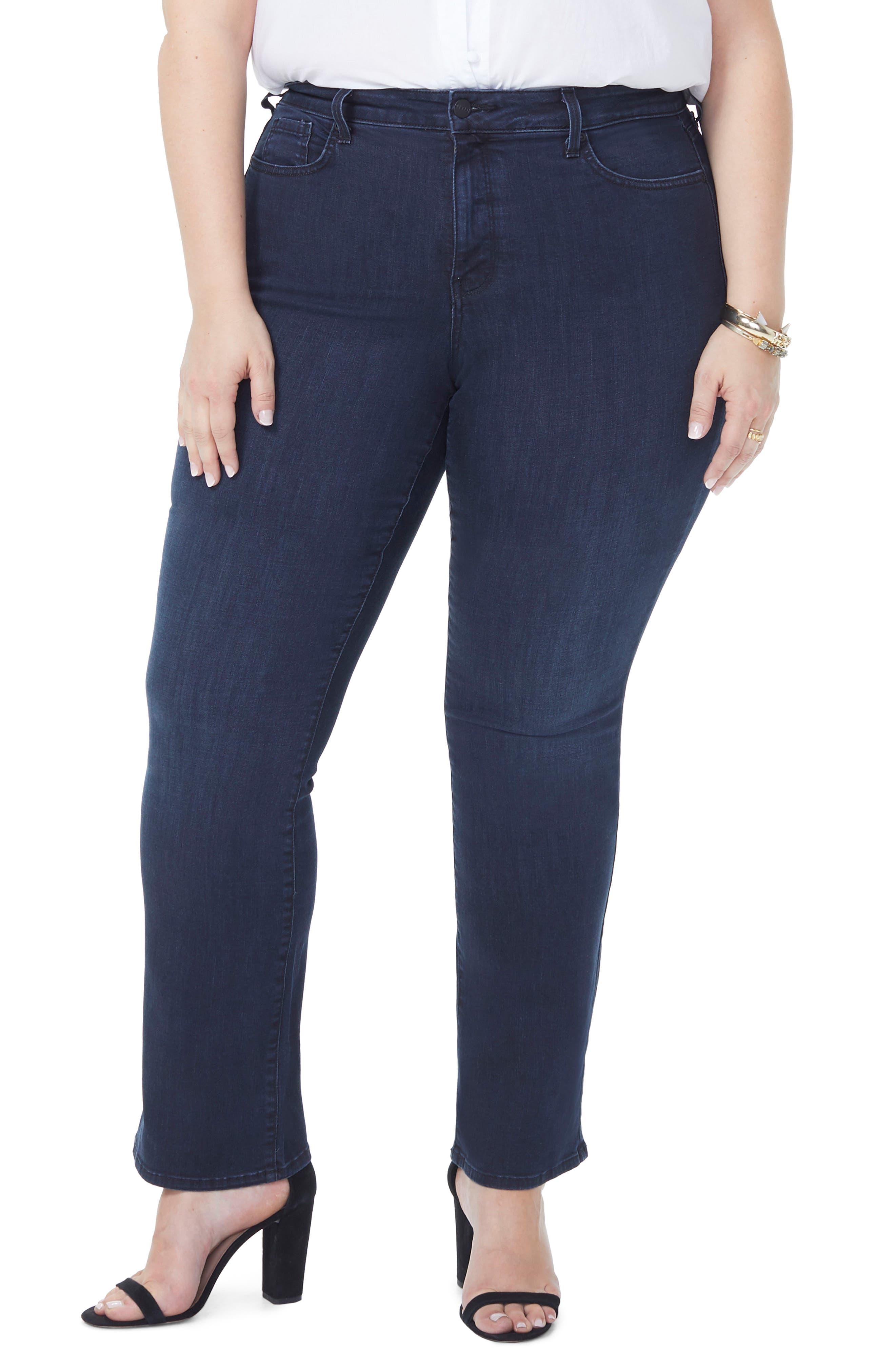 Barbara Stretch Bootcut Jeans,                             Main thumbnail 1, color,                             FALLEN