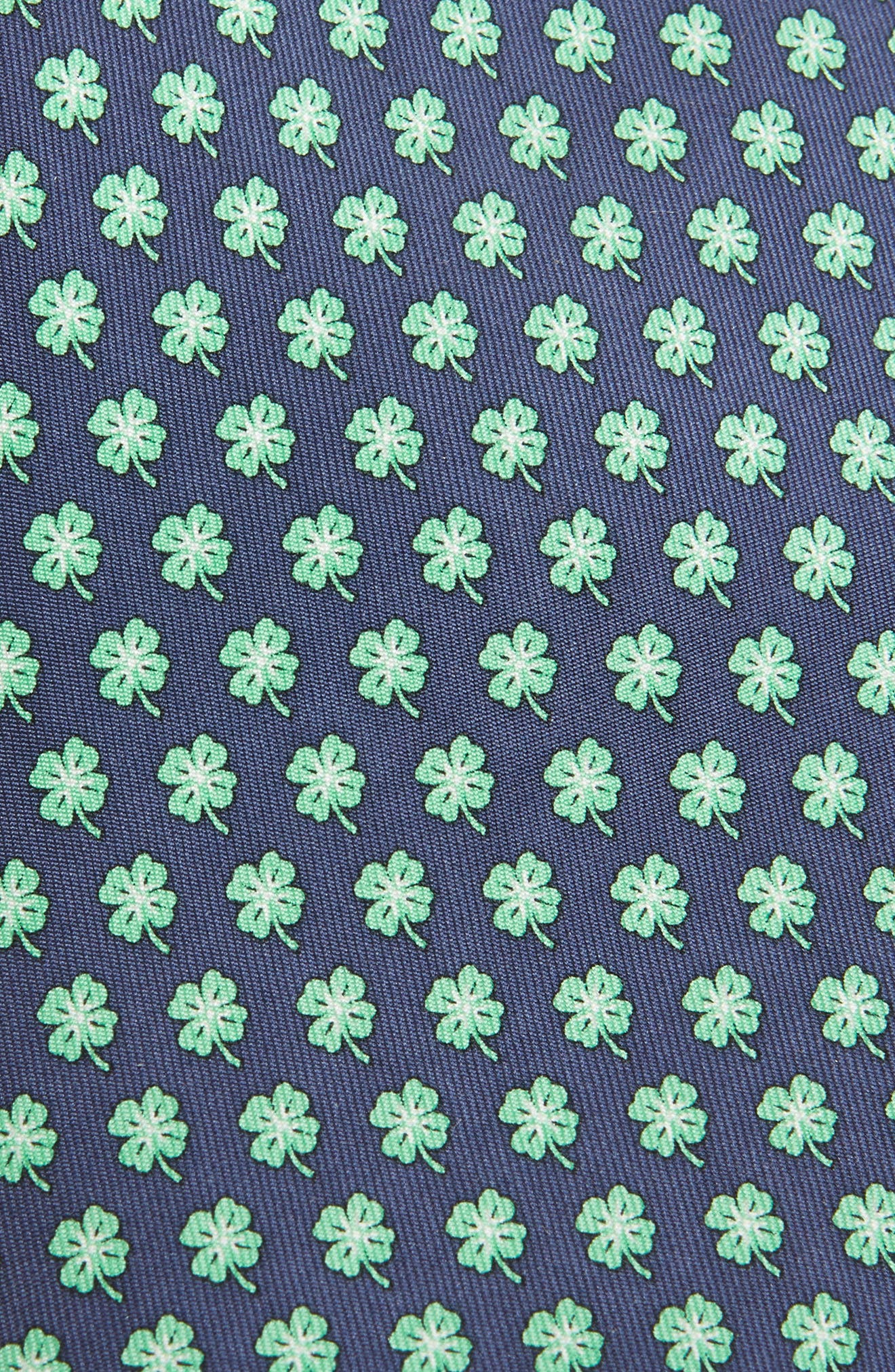 Print Silk Tie,                             Alternate thumbnail 2, color,                             414