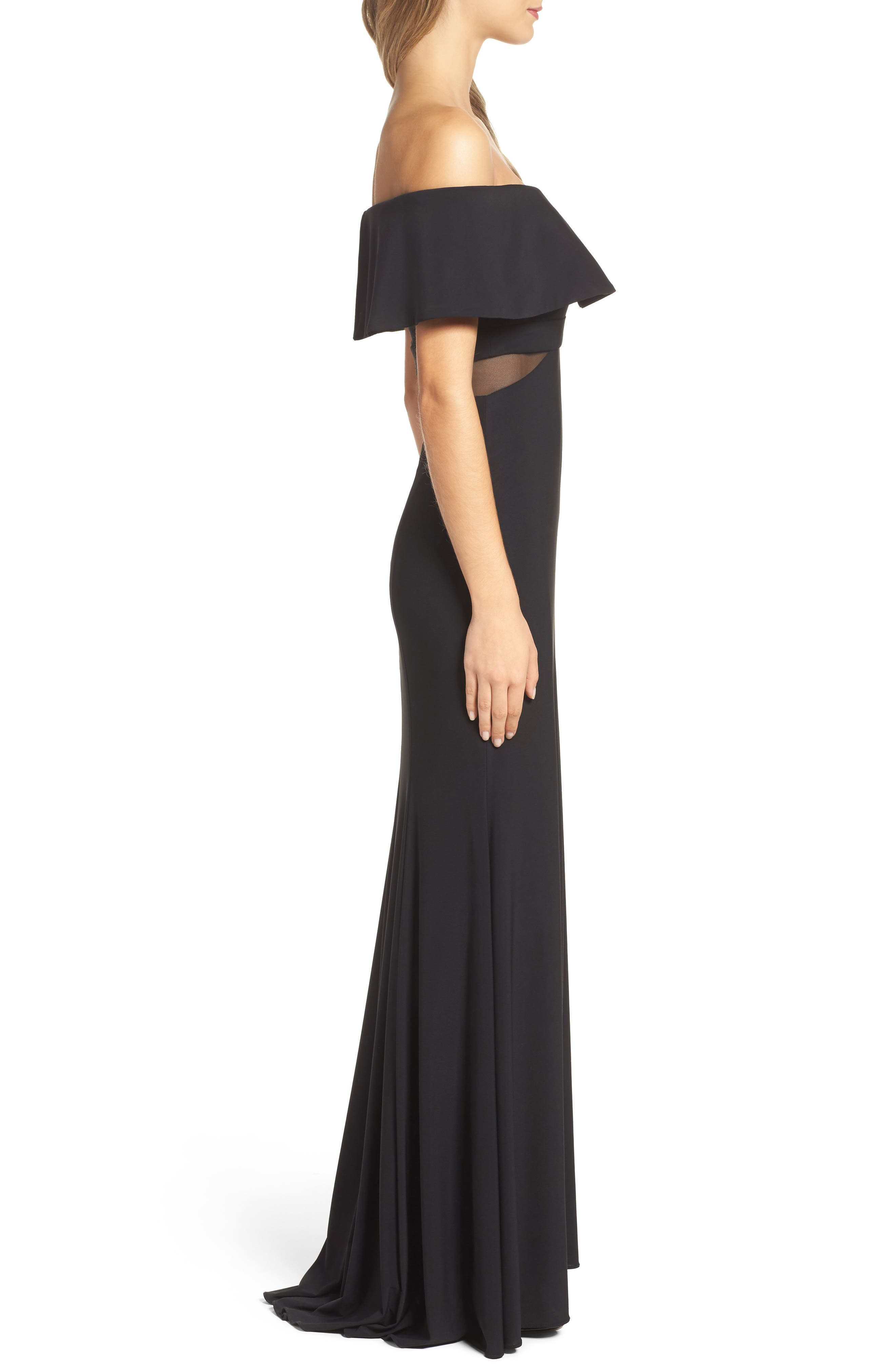 Jersey Popover Gown,                             Alternate thumbnail 8, color,