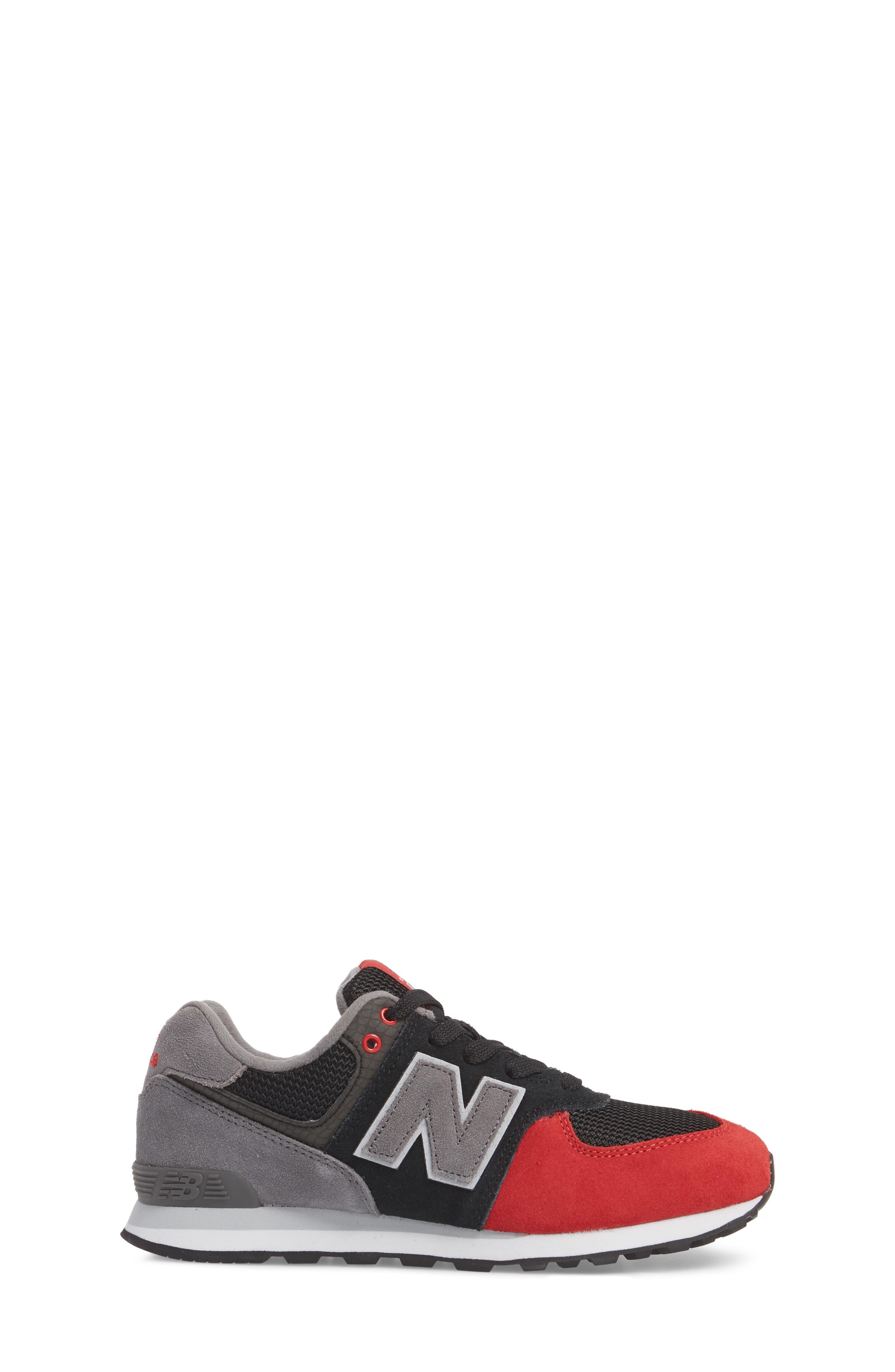574 Serpent Luxe Sneaker,                             Alternate thumbnail 5, color,
