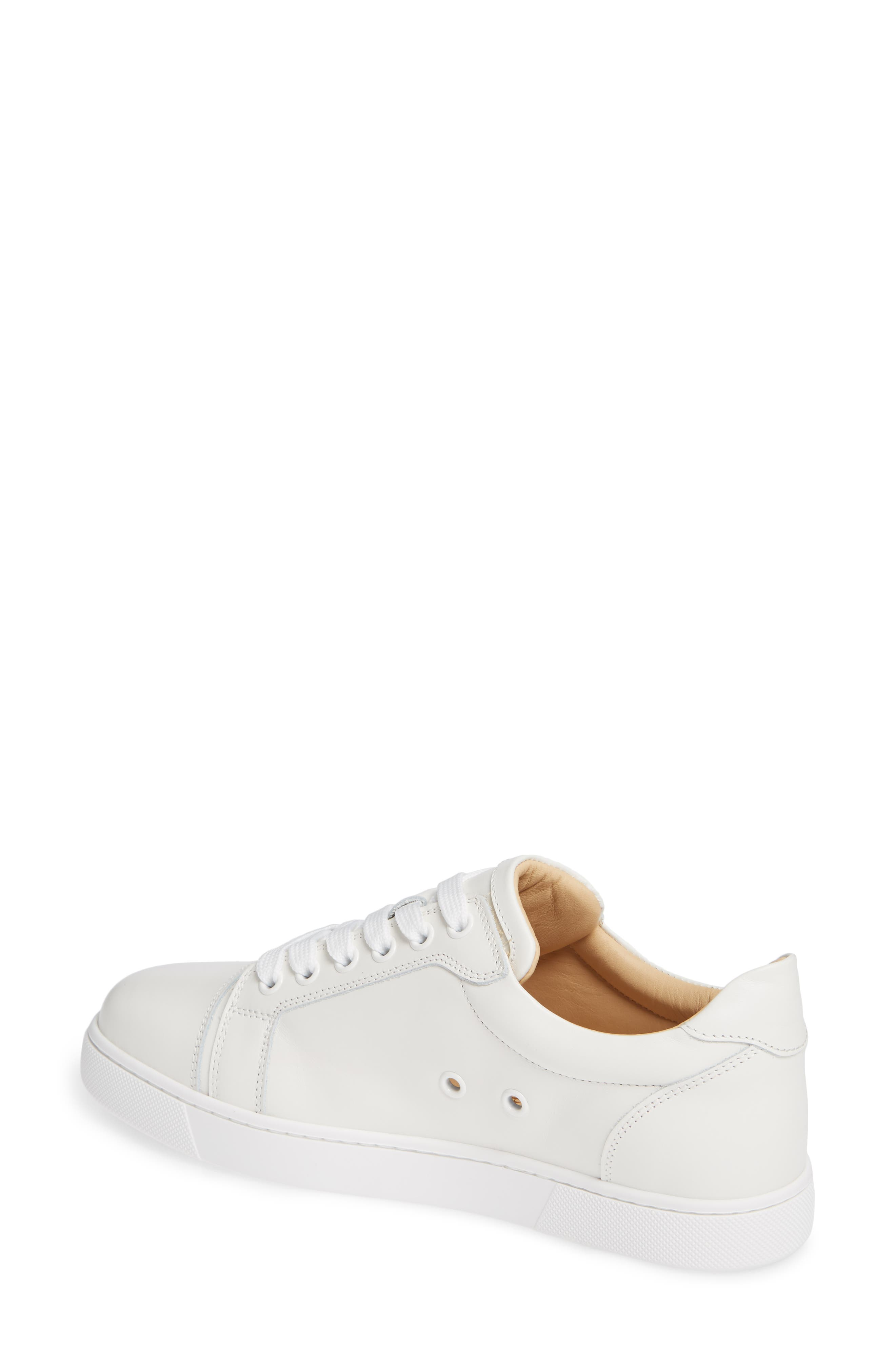 Veira Lace-Up Sneaker,                             Alternate thumbnail 2, color,                             SNOW WHITE