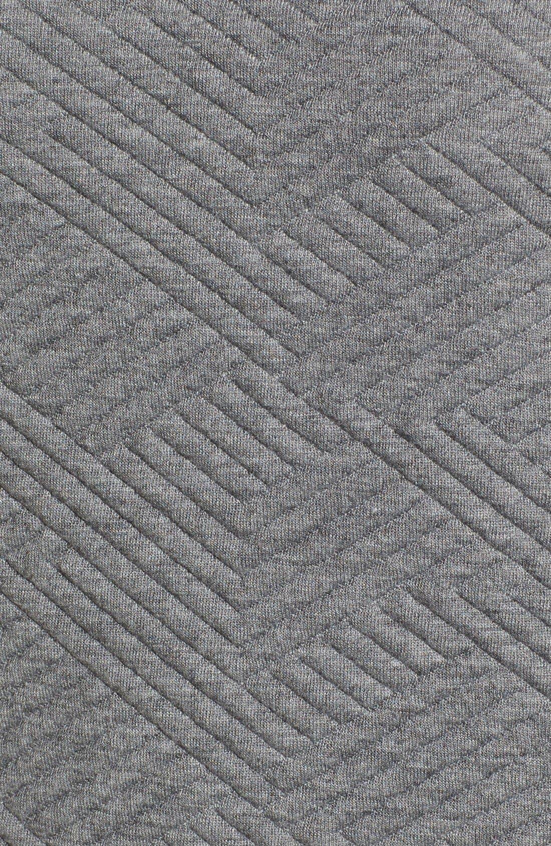 Textured Elbow Sleeve Tunic Dress,                             Alternate thumbnail 11, color,                             030