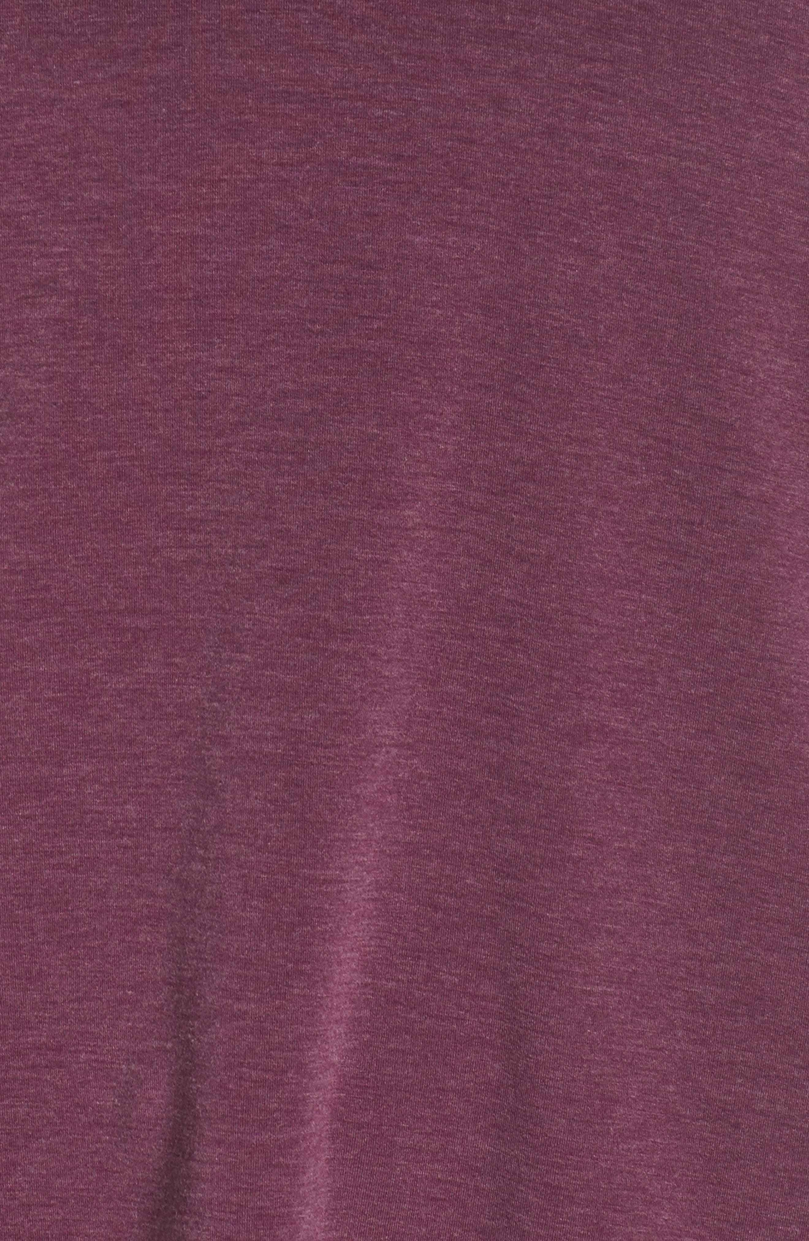 ZELLA,                             Ava Quick-Dry Tee,                             Alternate thumbnail 6, color,                             PURPLE ODYSSEY