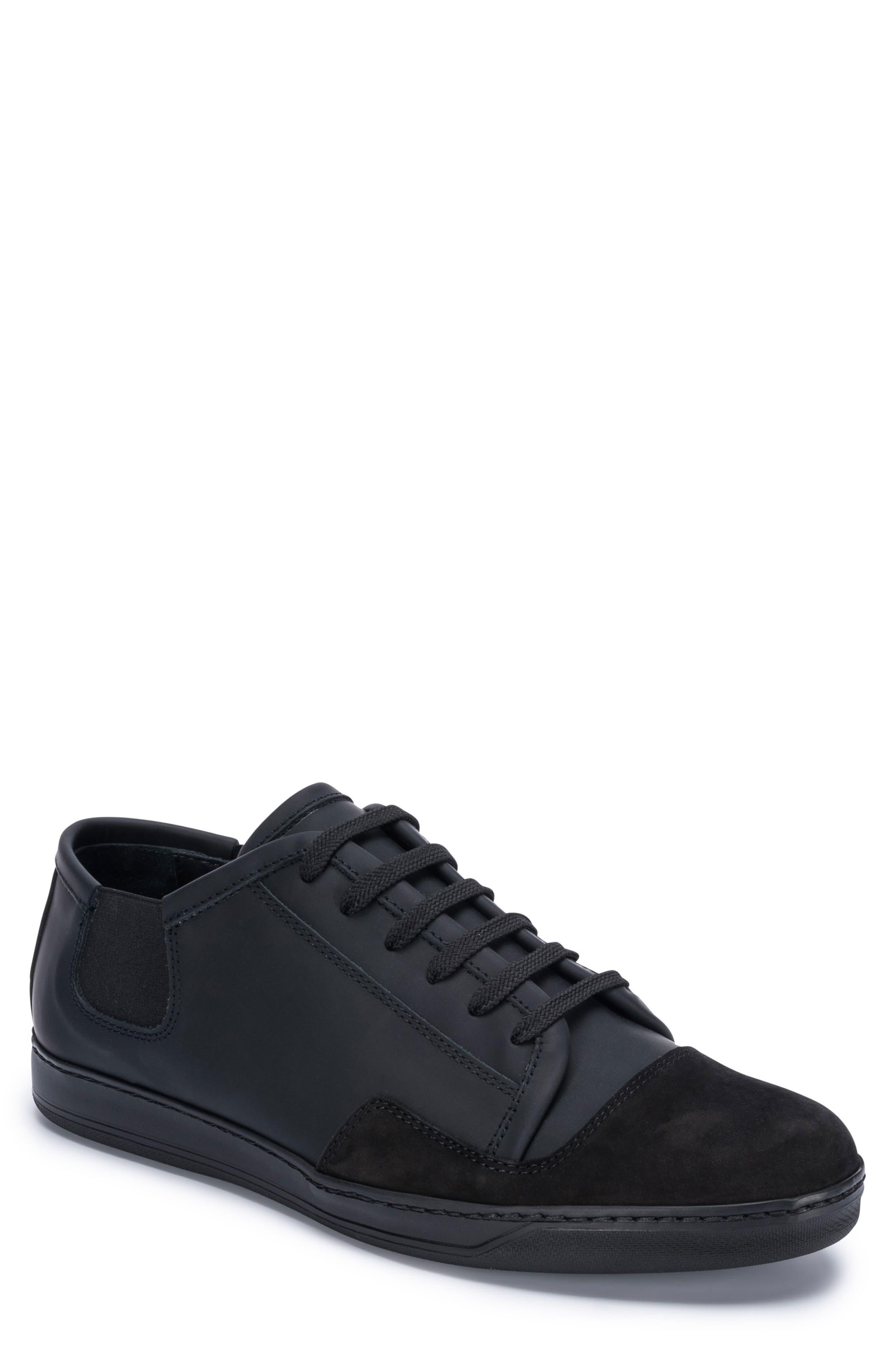 Bellagio Sneaker,                         Main,                         color, BLACK