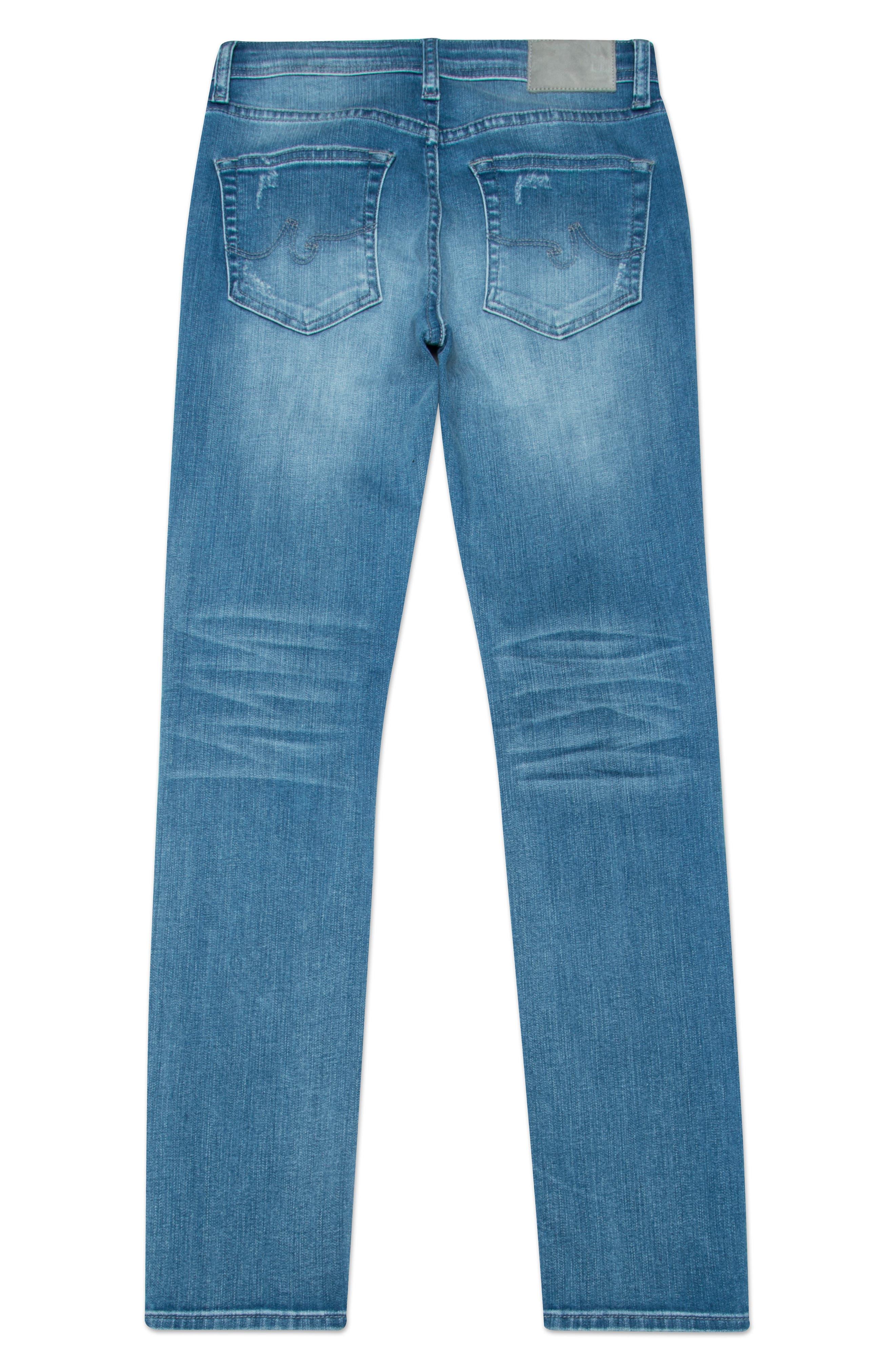 The Stryker Slim Straight Leg Jeans,                             Alternate thumbnail 2, color,                             11Y MANUSCRIPT