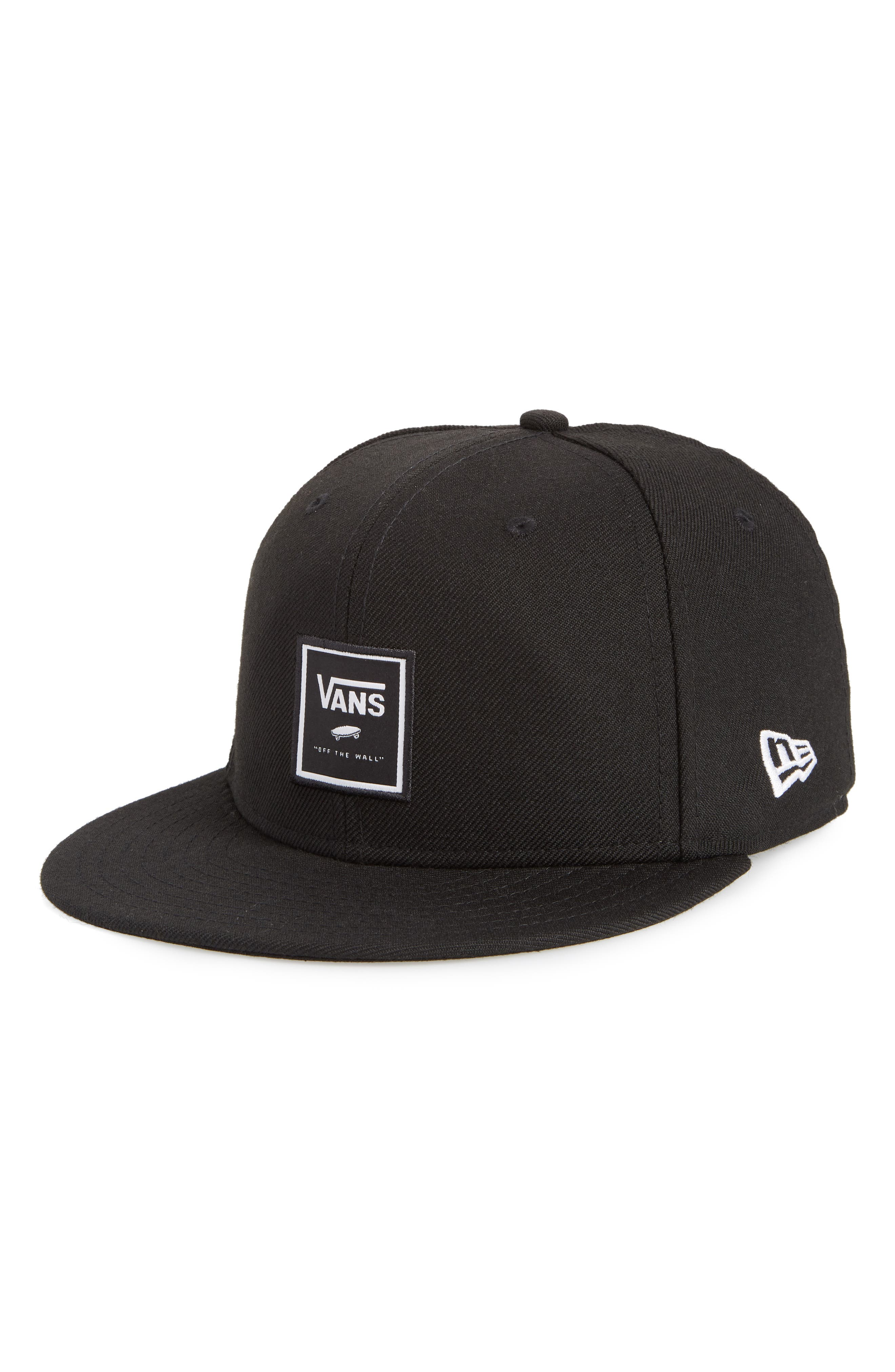 Print Box 59Fifty Baseball Cap,                             Main thumbnail 1, color,                             BLACK