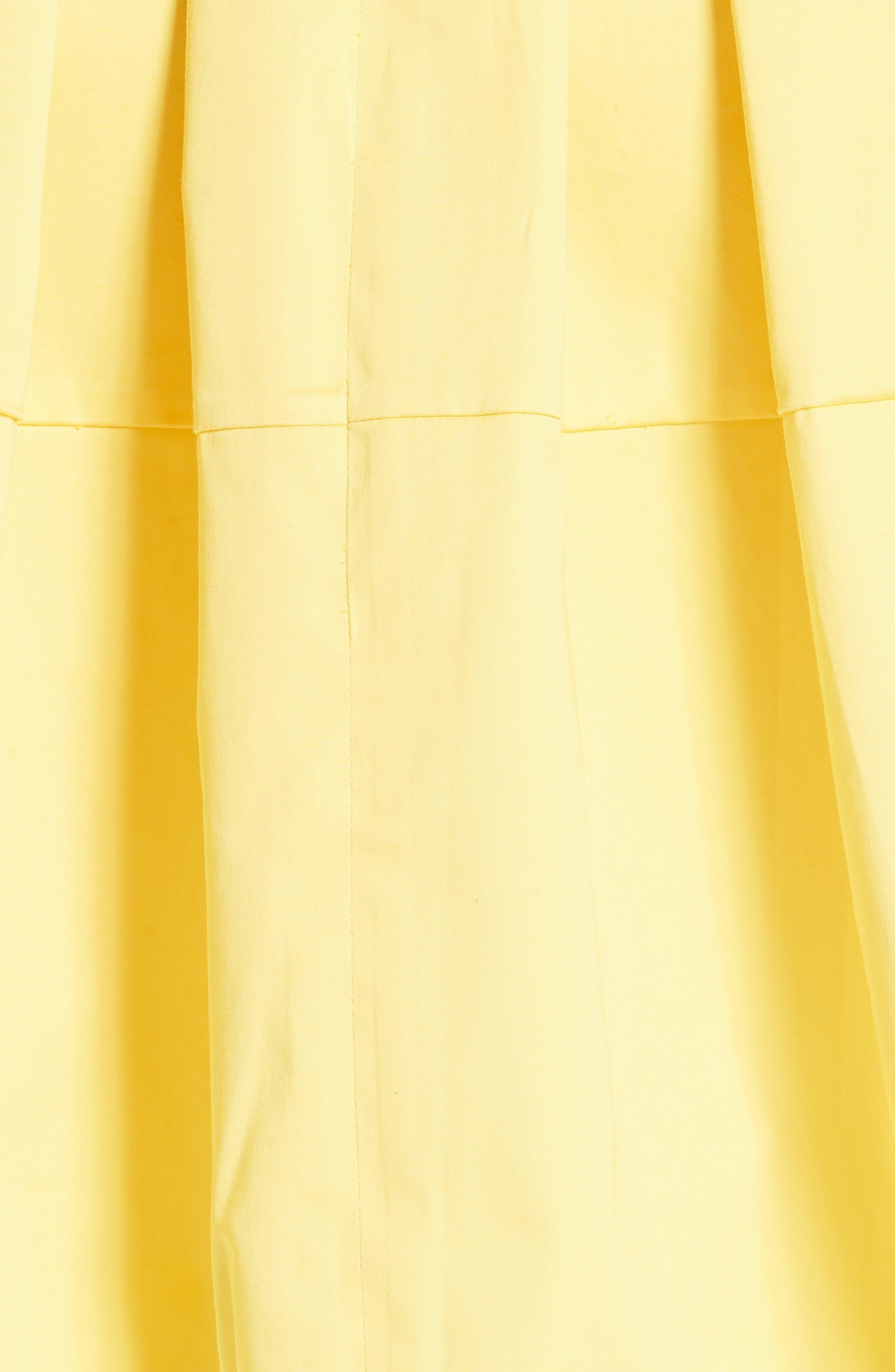 Jullee Off the Shoulder Stretch Cotton Dress,                             Alternate thumbnail 5, color,                             720