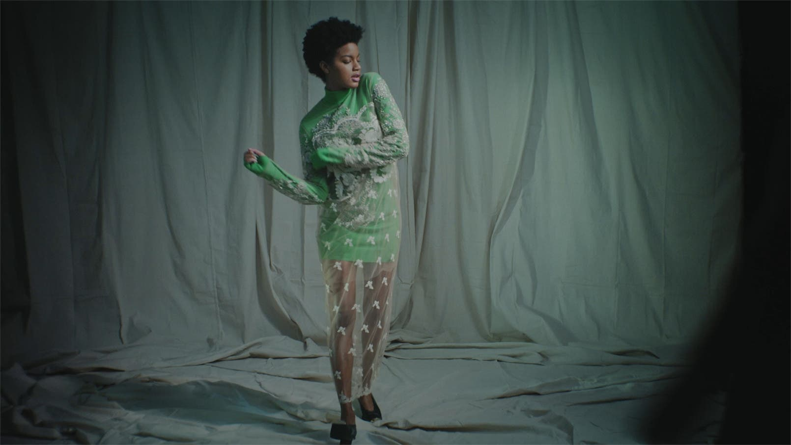 Stella McCartney dress.